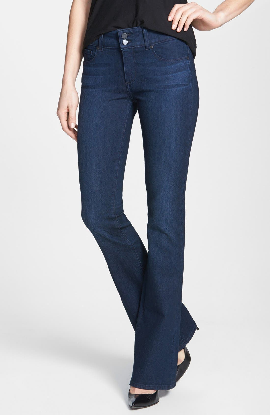 Alternate Image 1 Selected - Paige Denim 'Hidden Hills' Bootcut Jeans (Alexis)