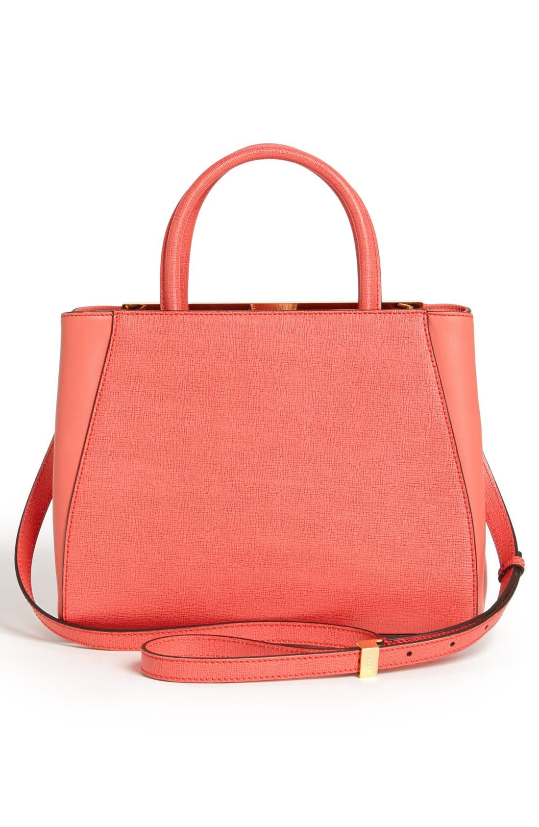Alternate Image 3  - Fendi 'Petite 2Jours Elite' Leather Shopper