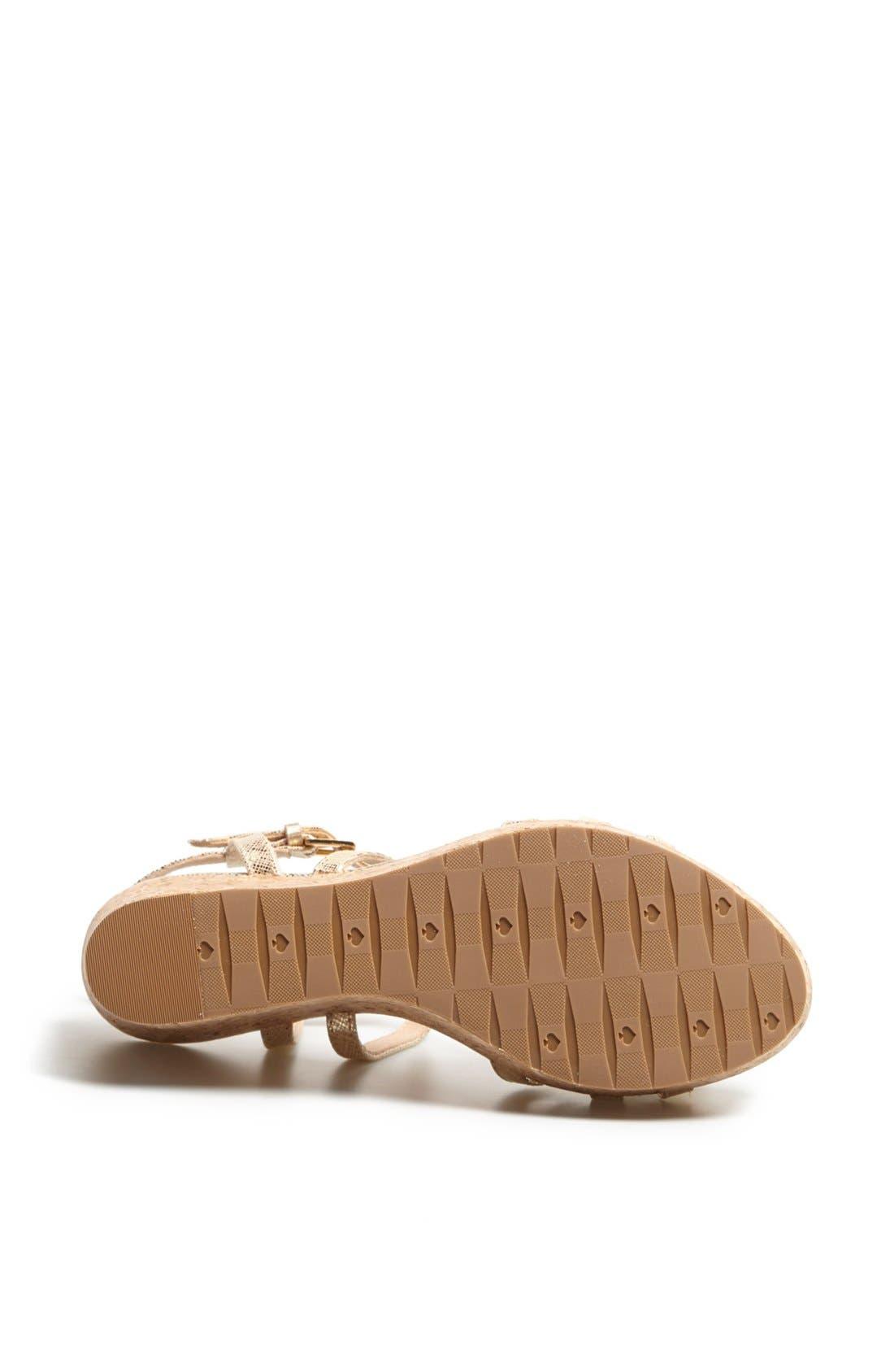 Alternate Image 4  - kate spade new york 'tropez' wedge platform sandal