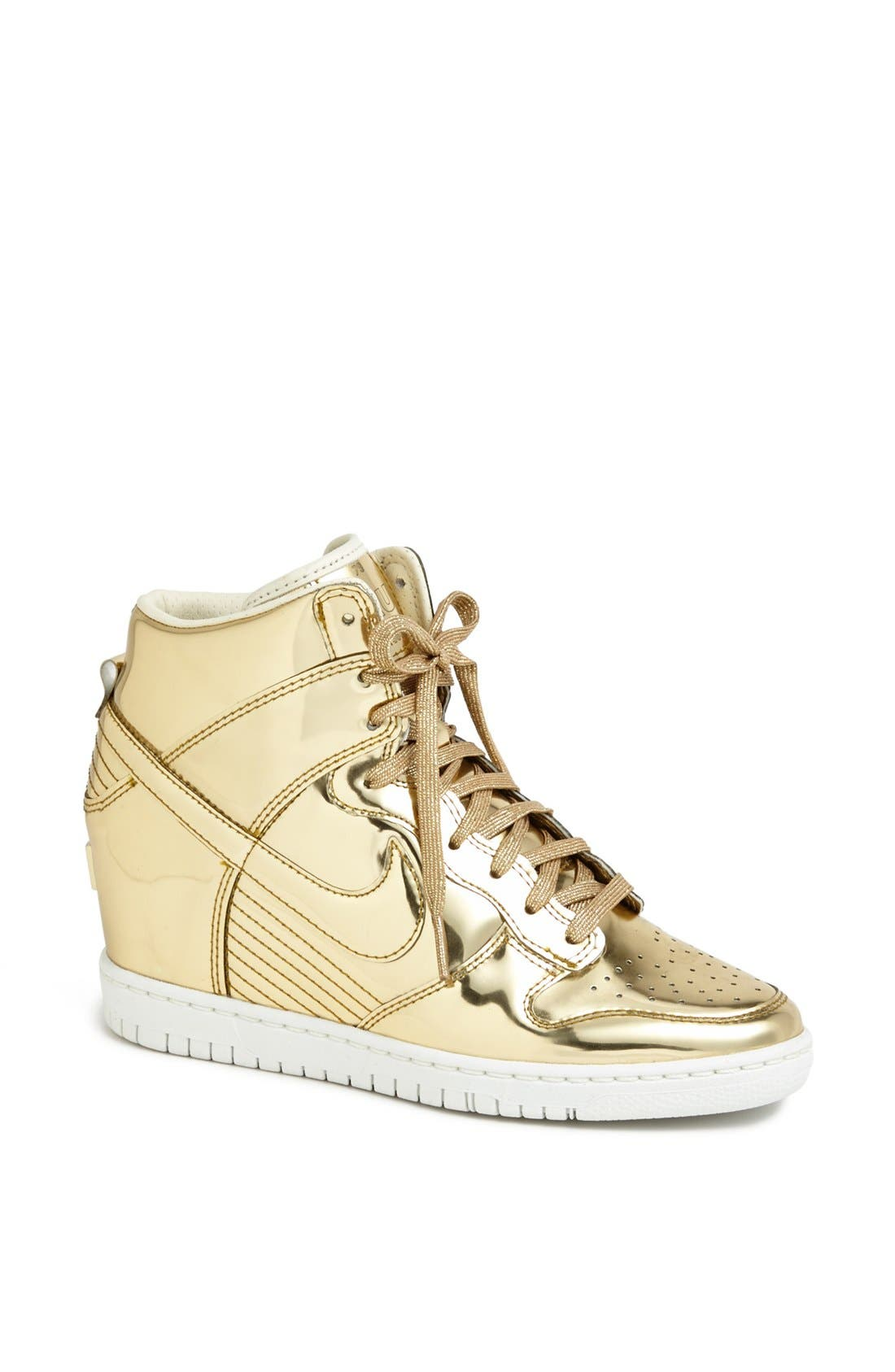Alternate Image 1 Selected - Nike 'Dunk Sky Hi' Hidden Wedge Sneaker (Women)