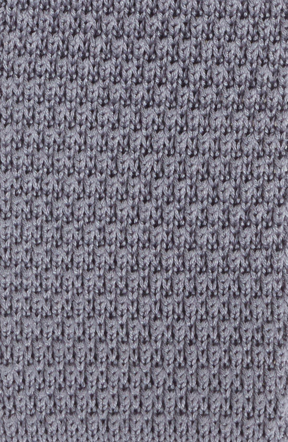 Alternate Image 2  - 1901 Skinny Knit Tie