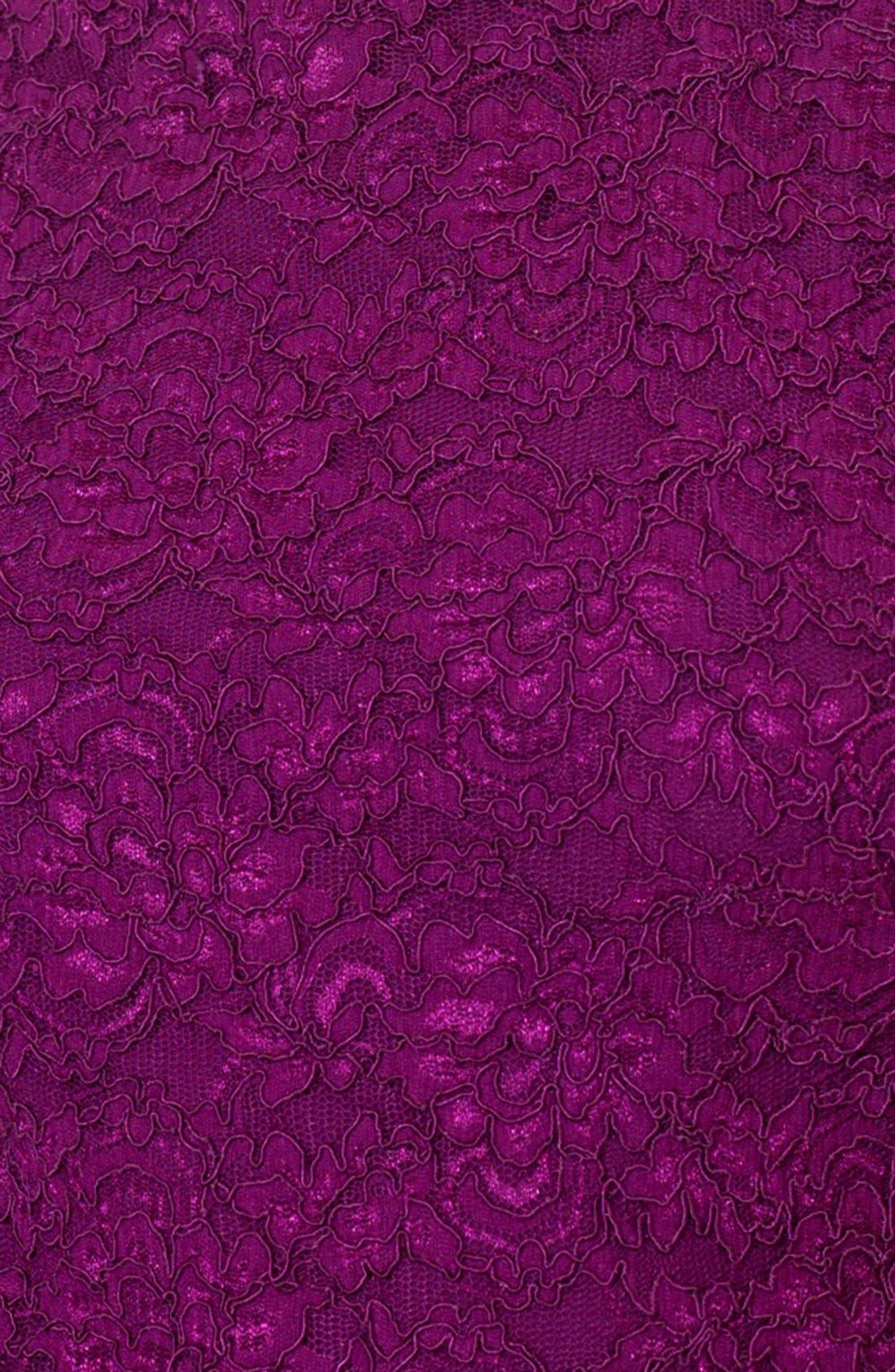 Alternate Image 3  - Lauren Ralph Lauren Lace Sheath Dress (Petite)