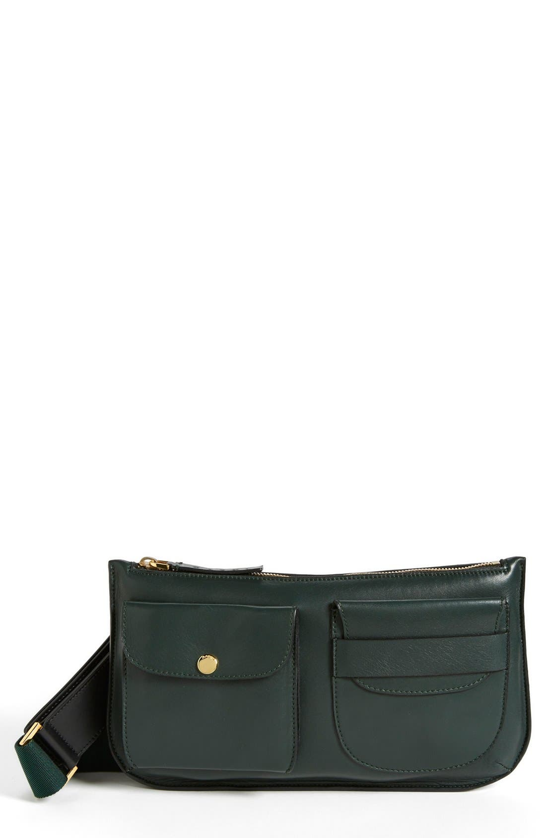 Alternate Image 1 Selected - Marni Leather Belt Bag
