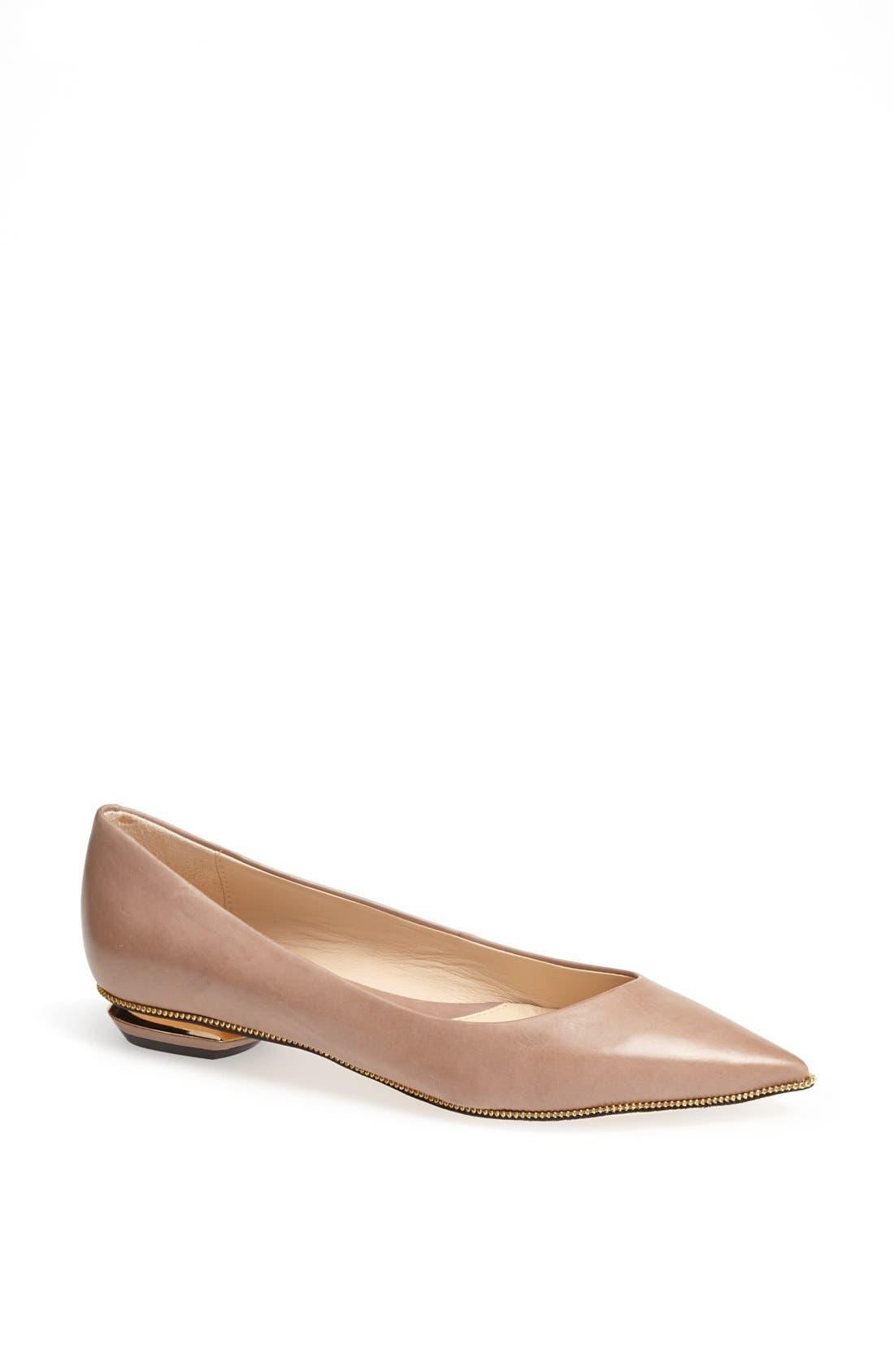Main Image - Carolinna Espinosa 'Sandra' Leather Flat
