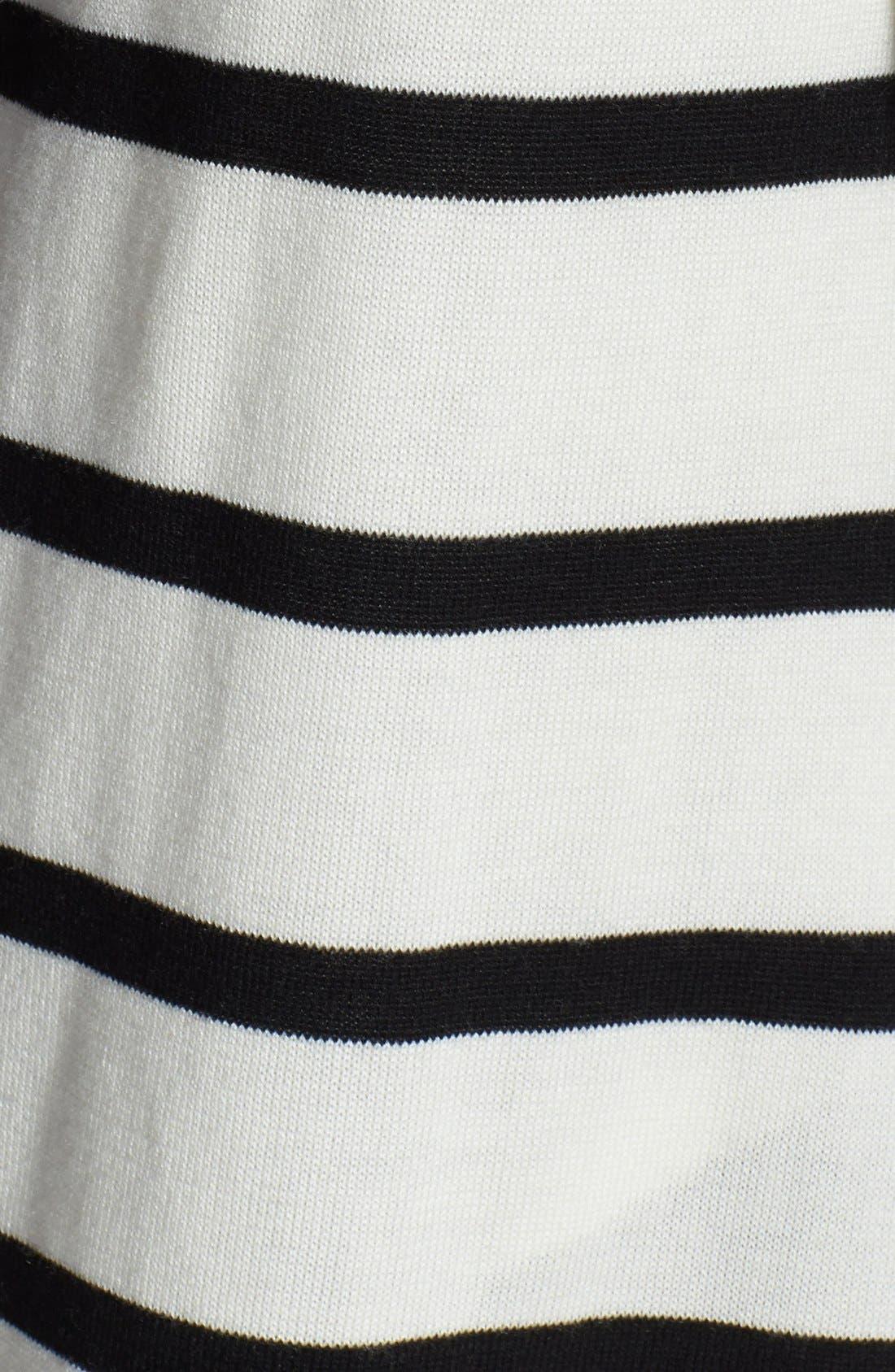 Alternate Image 3  - Splendid Stripe Open Front Cardigan