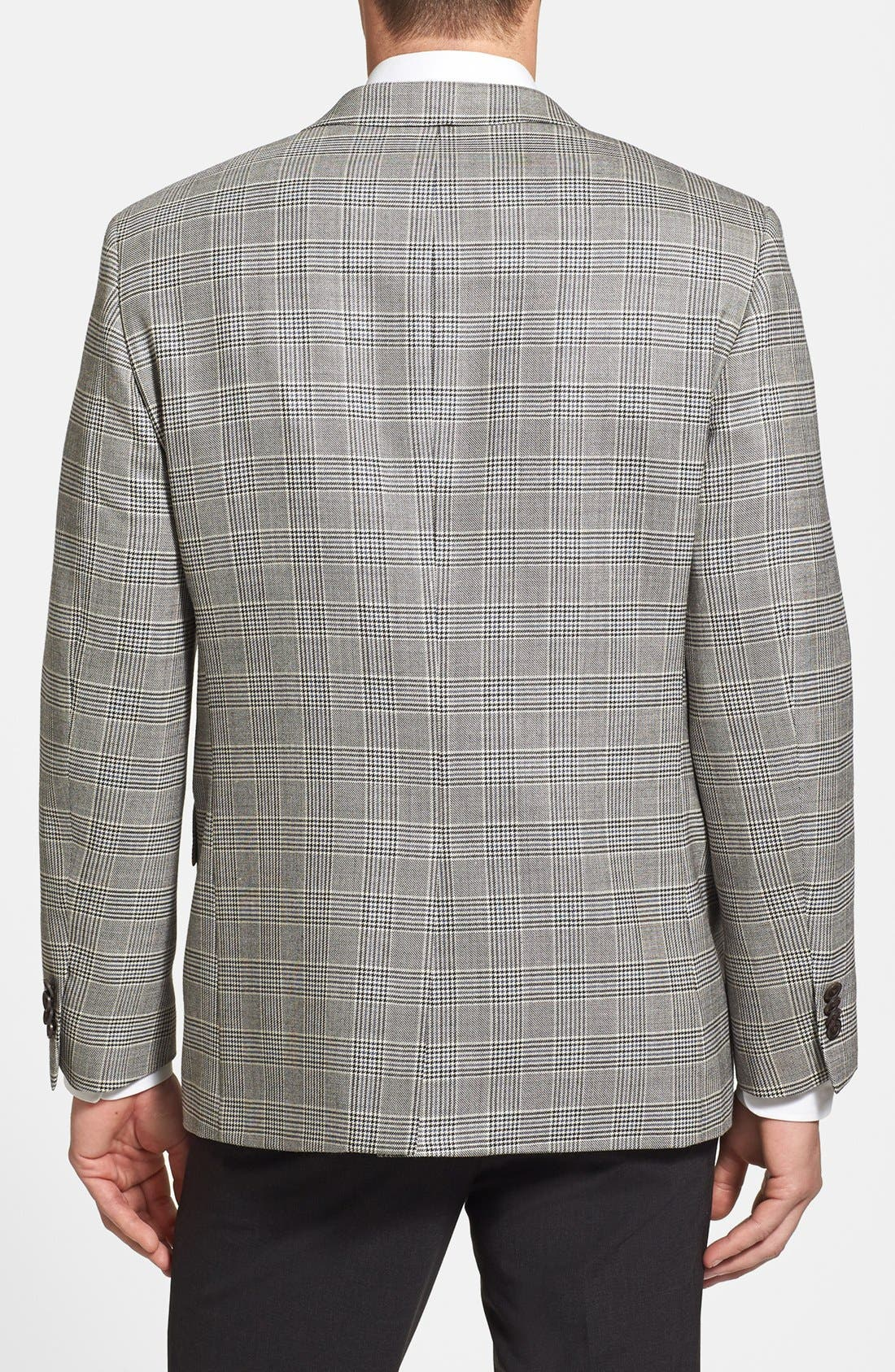 Alternate Image 2  - John W. Nordstrom® Classic Fit Silk & Wool Sportcoat