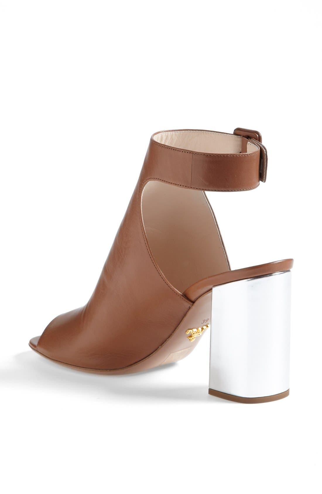 Alternate Image 2  - Prada Glove Slingback Sandal (Women)