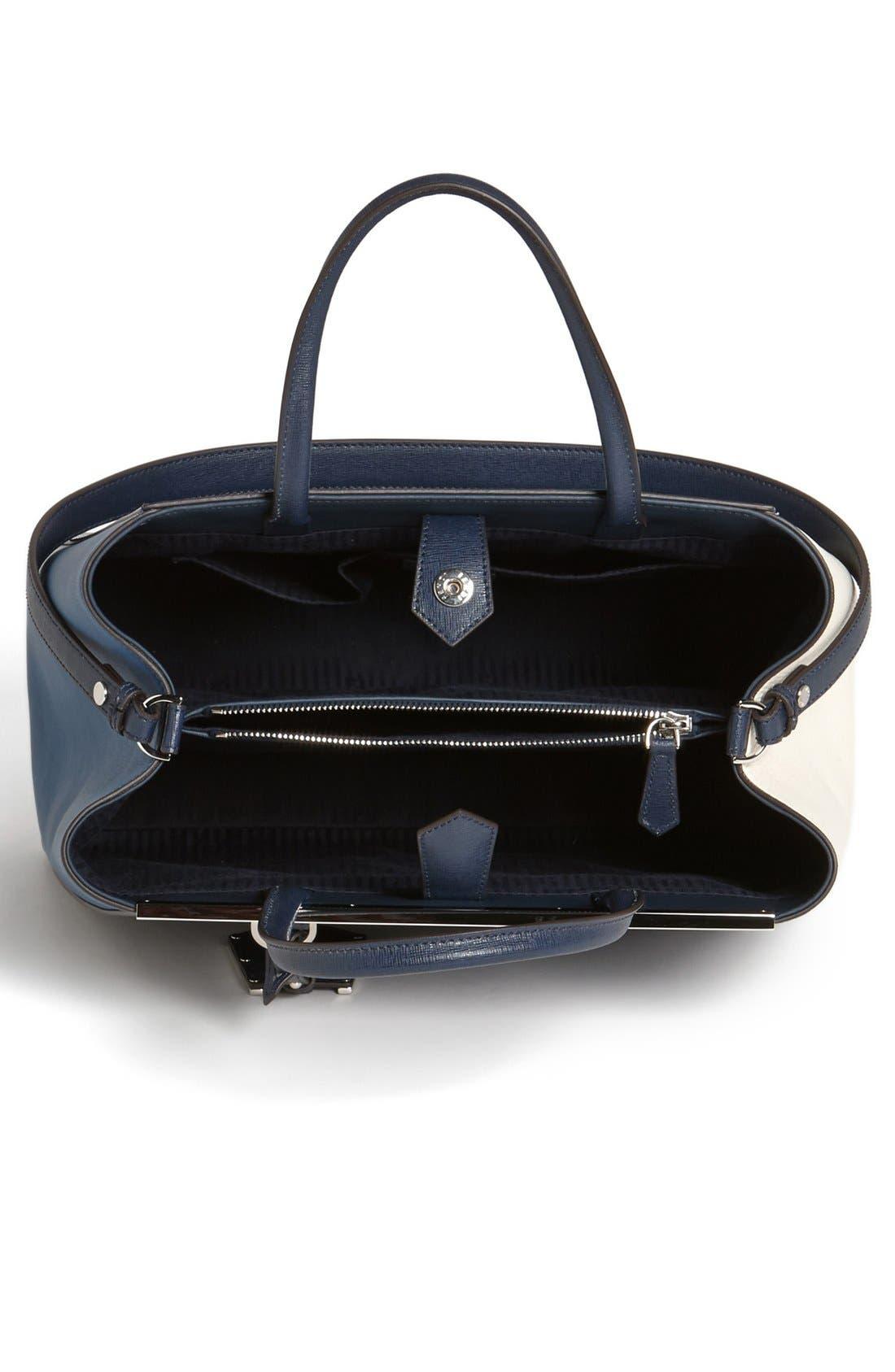 Alternate Image 3  - Fendi 'Medium 2Jours Tricolor' Leather Shopper