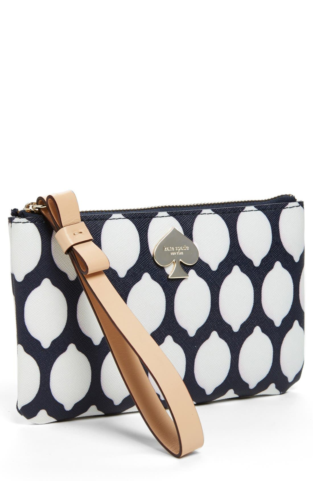 Alternate Image 1 Selected - kate spade new york 'cobblestone park - bee' wristlet
