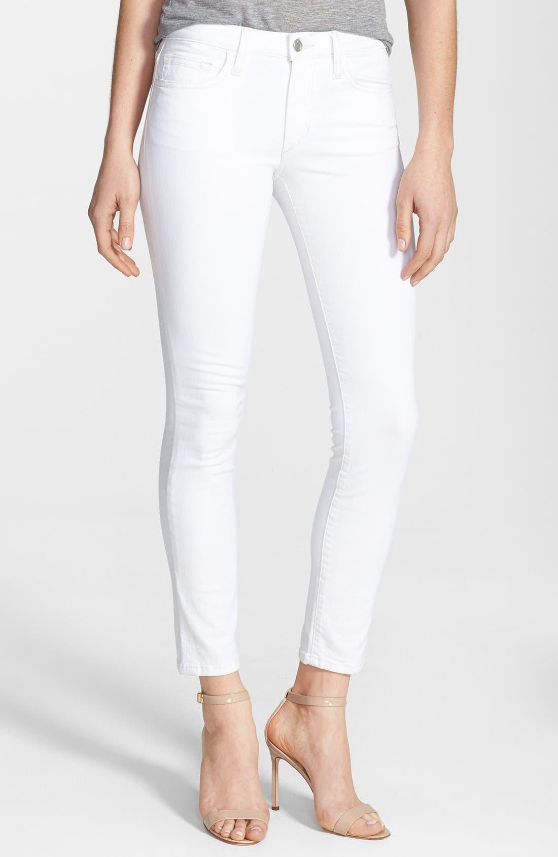 Alternate Image 1 Selected - Joe's Stretch Skinny Ankle Jeans (Pennie)