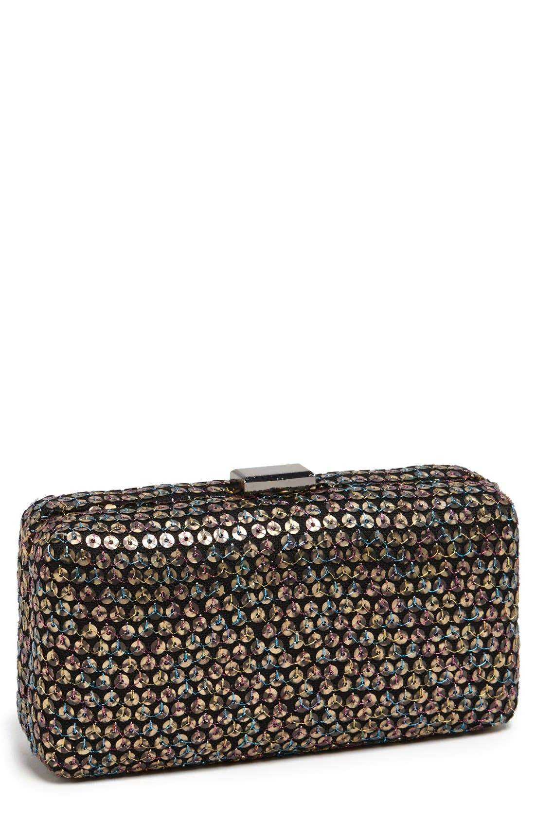 Alternate Image 1 Selected - Betsey Johnson Sequin Clutch