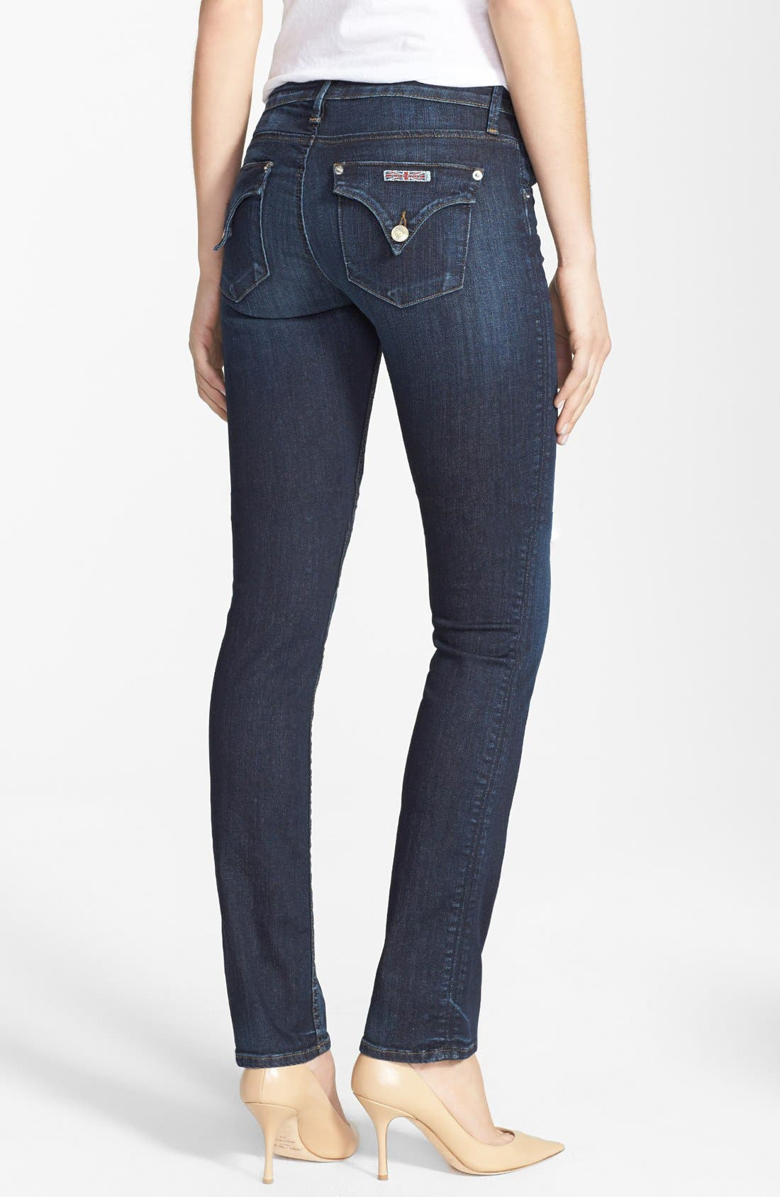 Alternate Image 2  - Hudson Jeans 'Carly' Straight Leg Jeans (Shirley)