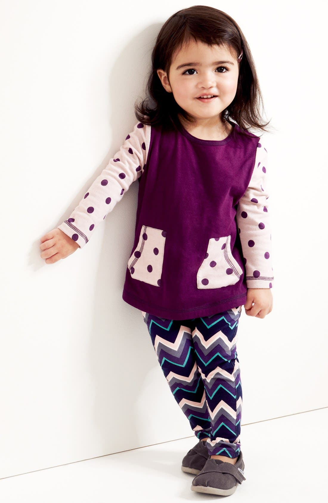 Alternate Image 2  - Tucker + Tate 'Sadie' Print Leggings (Baby Girls)