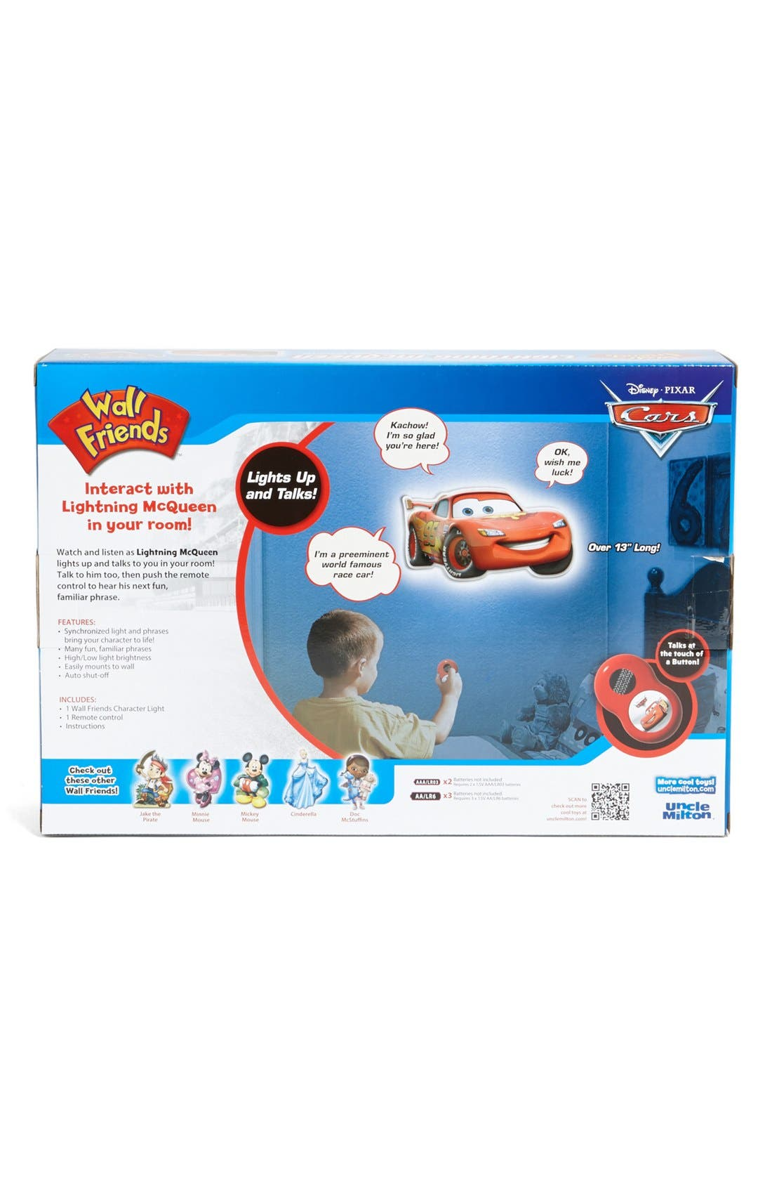 Alternate Image 2  - Uncle Milton 'Lightning McQueen' Interactive Wall Character