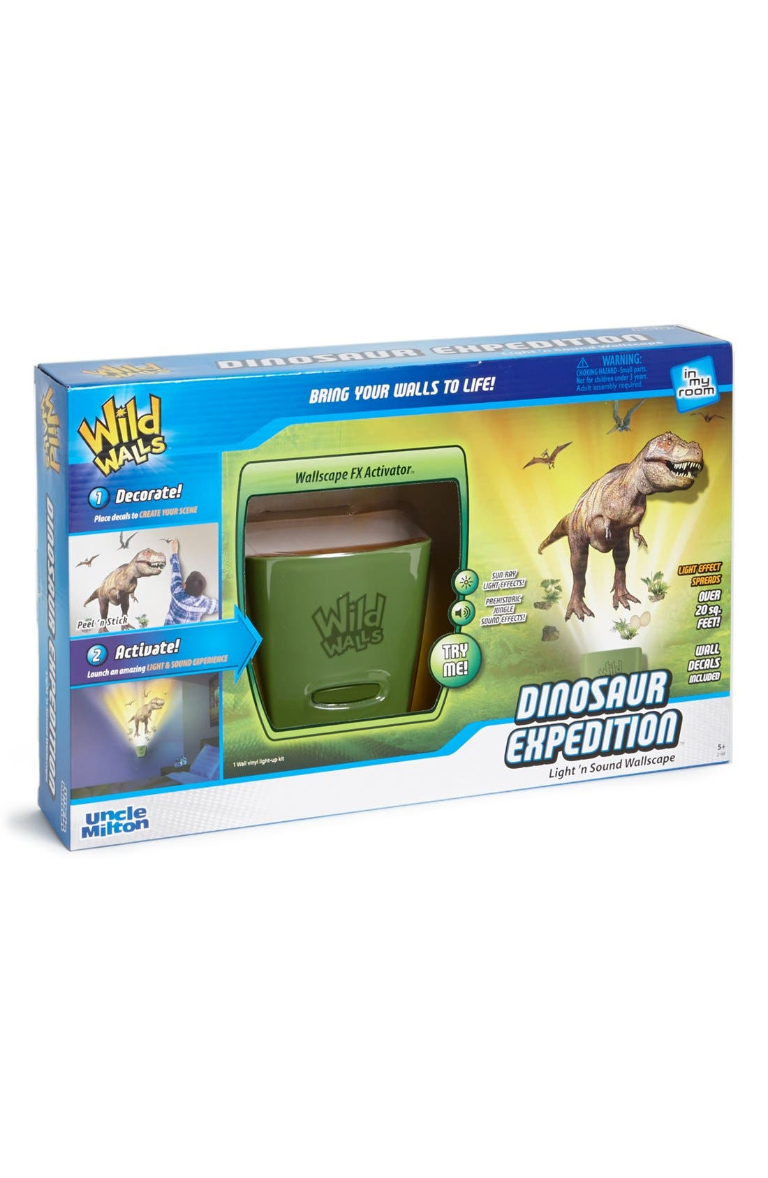 Main Image - Uncle Milton 'Dinosaur Expedition' Light & Sound Wallscape