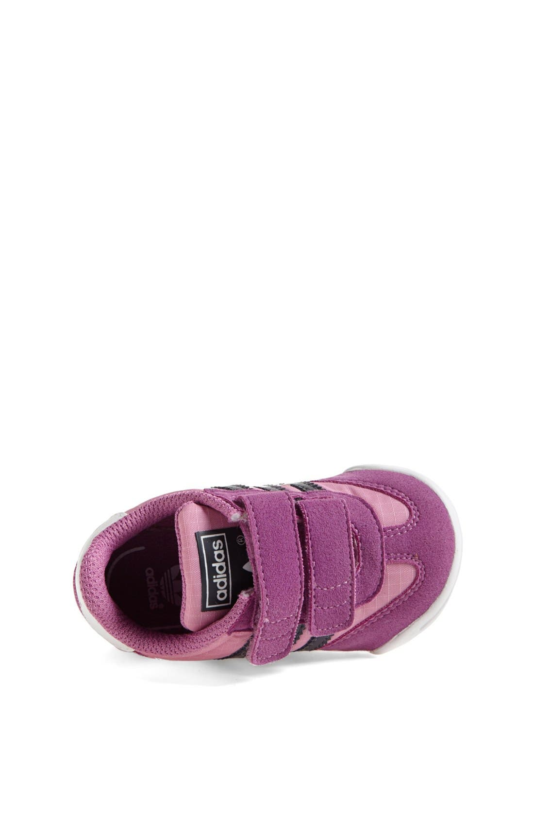 Alternate Image 3  - adidas 'Learn-2-Walk - Dragon' Crib Shoe (Baby Girls)