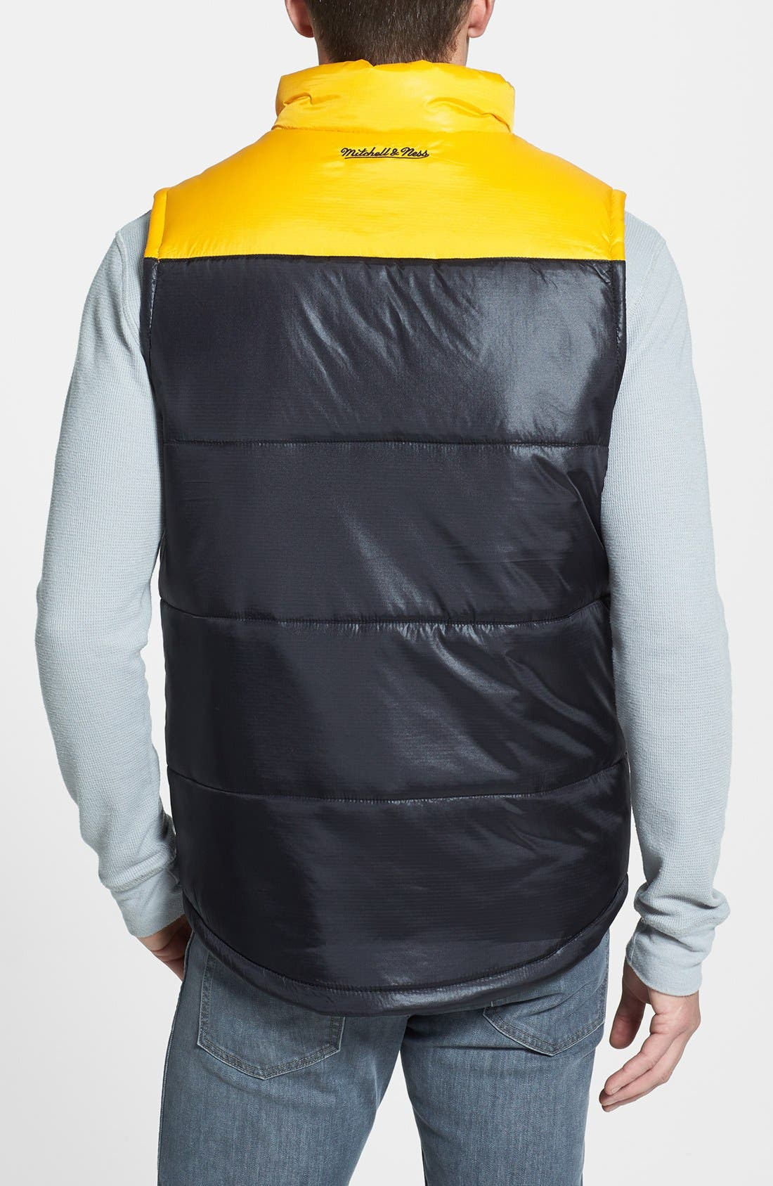 Alternate Image 2  - Mitchell & Ness 'Winning Team - Pittsburgh Steelers' Quilted Vest
