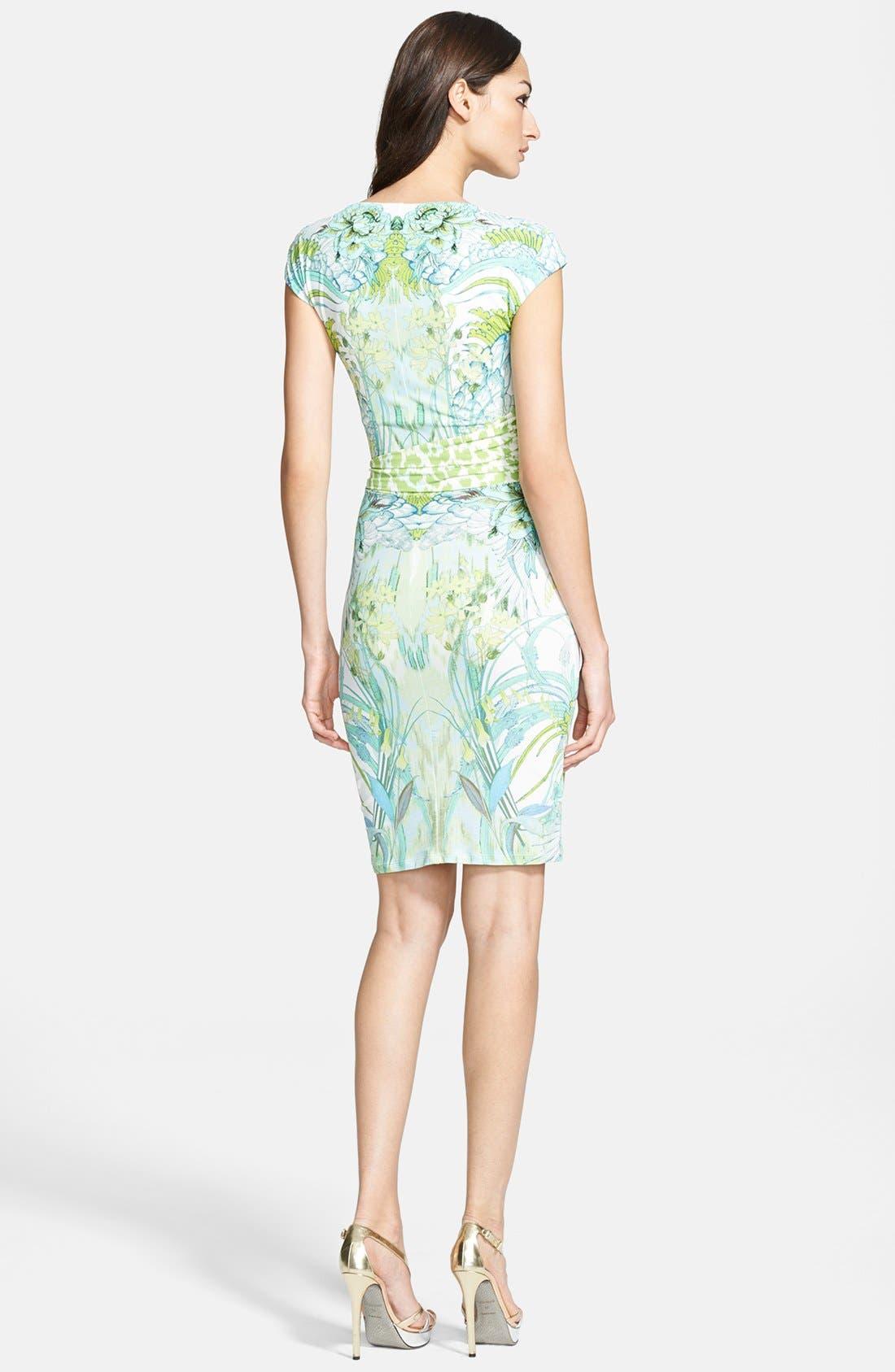 Alternate Image 2  - Roberto Cavalli Print Sheath Dress