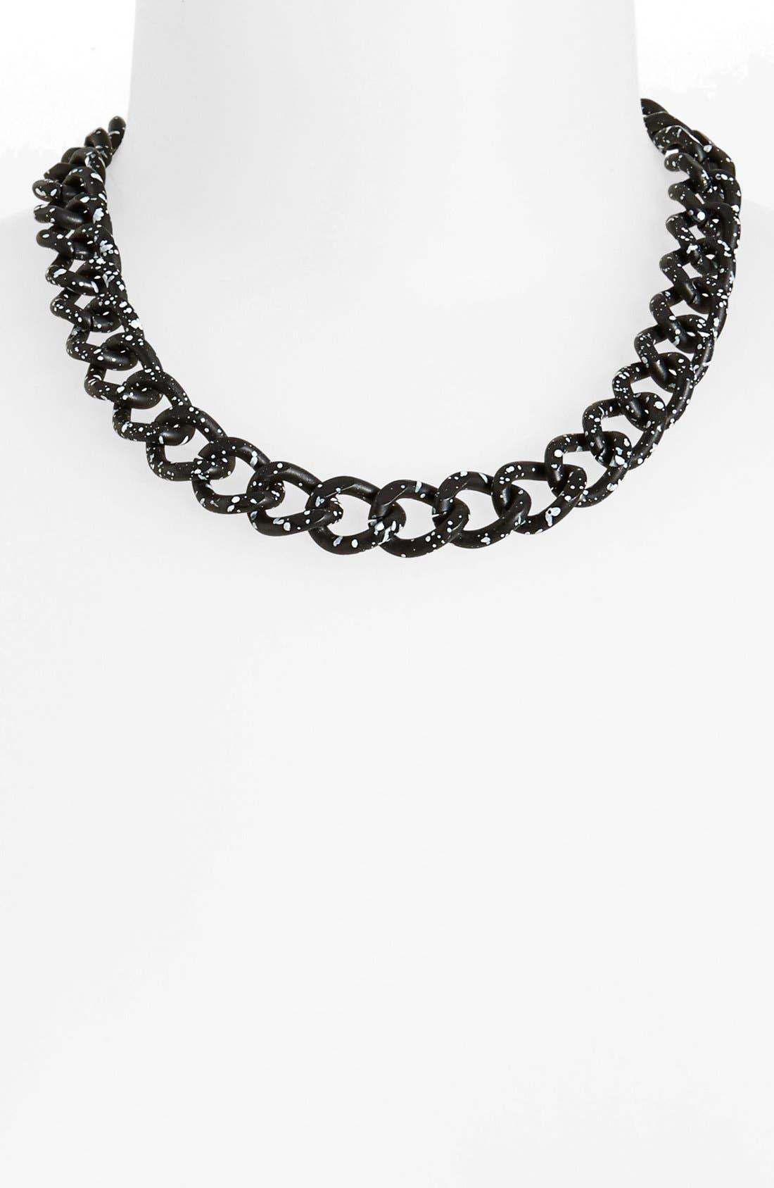 Alternate Image 1 Selected - Topshop 'Splatter Chain' Necklace