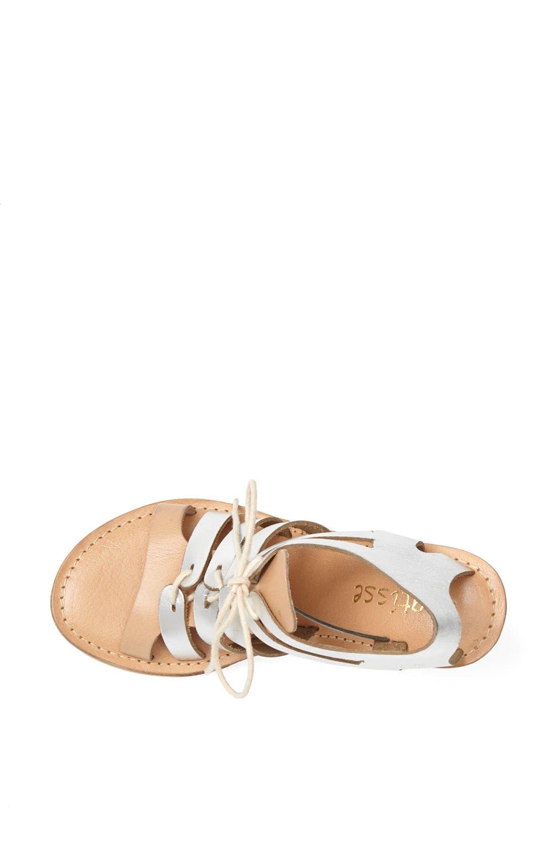 Alternate Image 3  - Matisse 'Begin' Metallic Leather Wedge Sandal