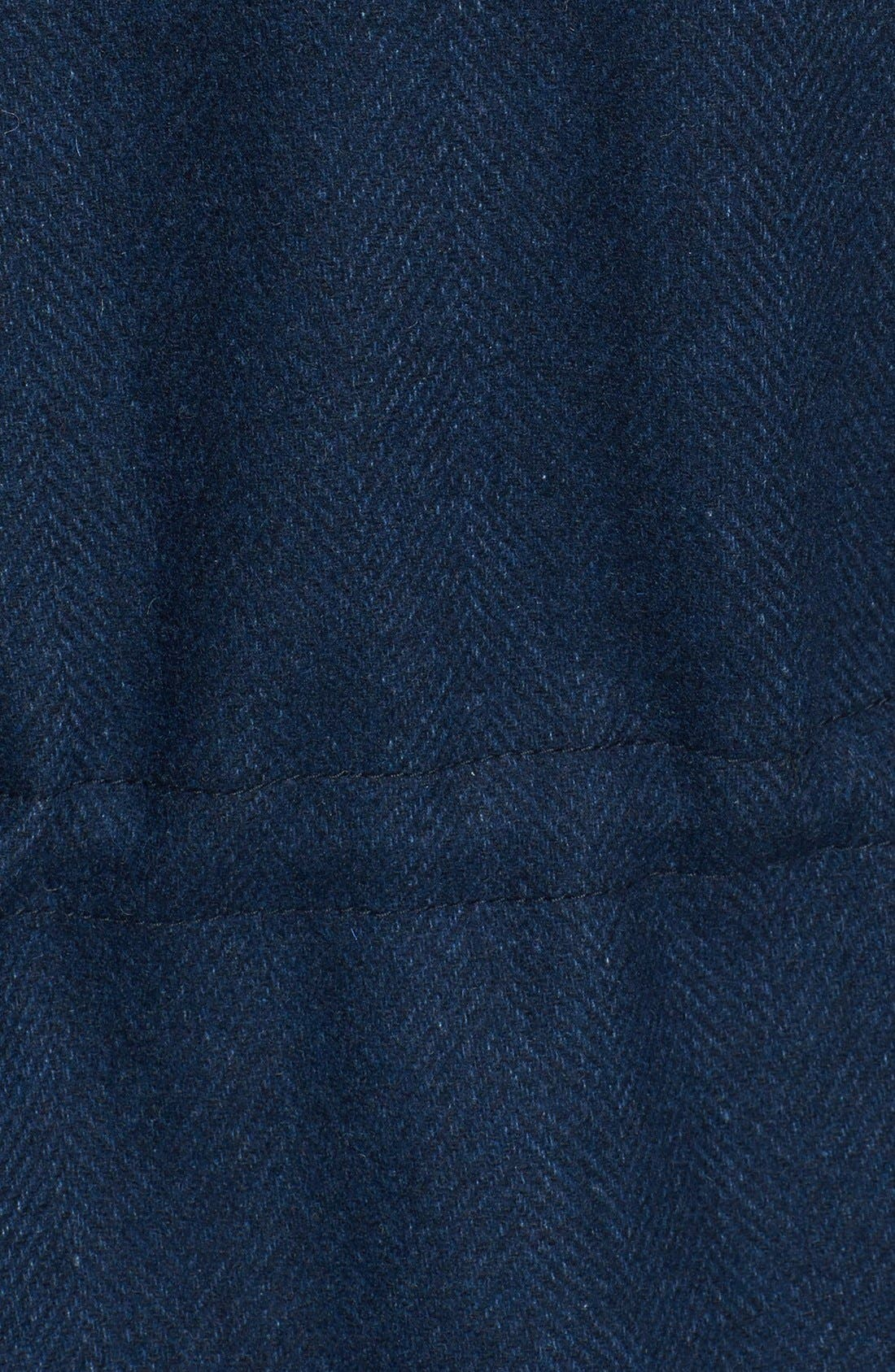 Alternate Image 3  - Topman Two-Tone Wool Blend Field Jacket