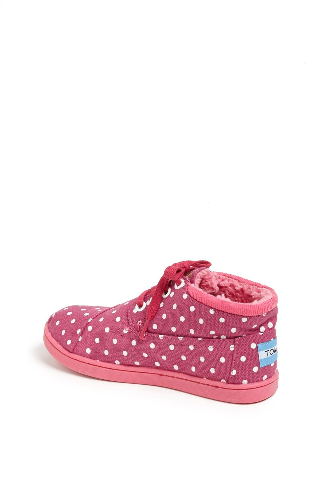 Alternate Image 2  - TOMS 'Botas - Youth' High Top Sneaker (Toddler, Little Kid & Big Kid)