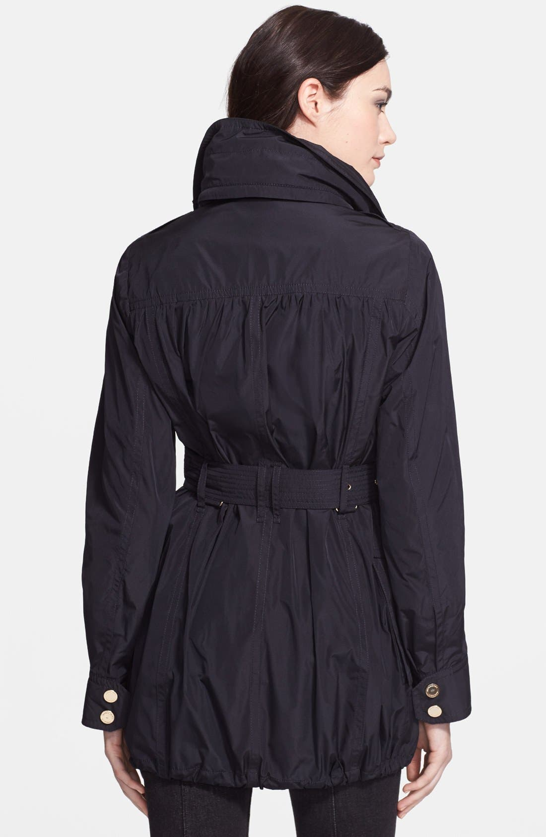 Alternate Image 2  - Burberry London Belted Taffeta Jacket