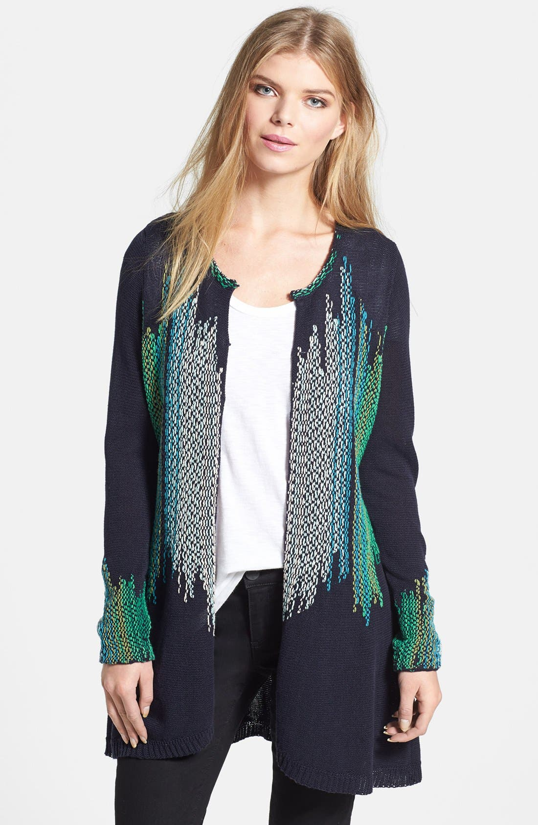 Alternate Image 1 Selected - NIC+ZOE 'Color Weave' Cardigan