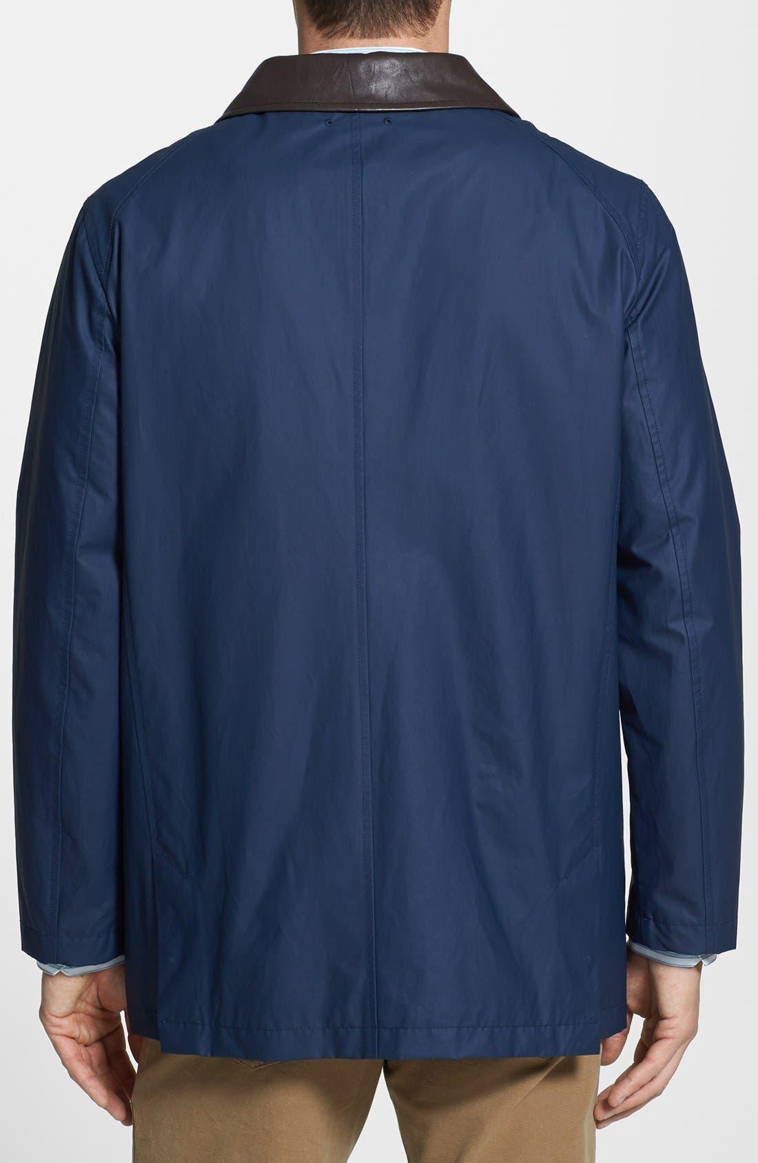 Alternate Image 2  - Cole Haan Coated Barn Jacket
