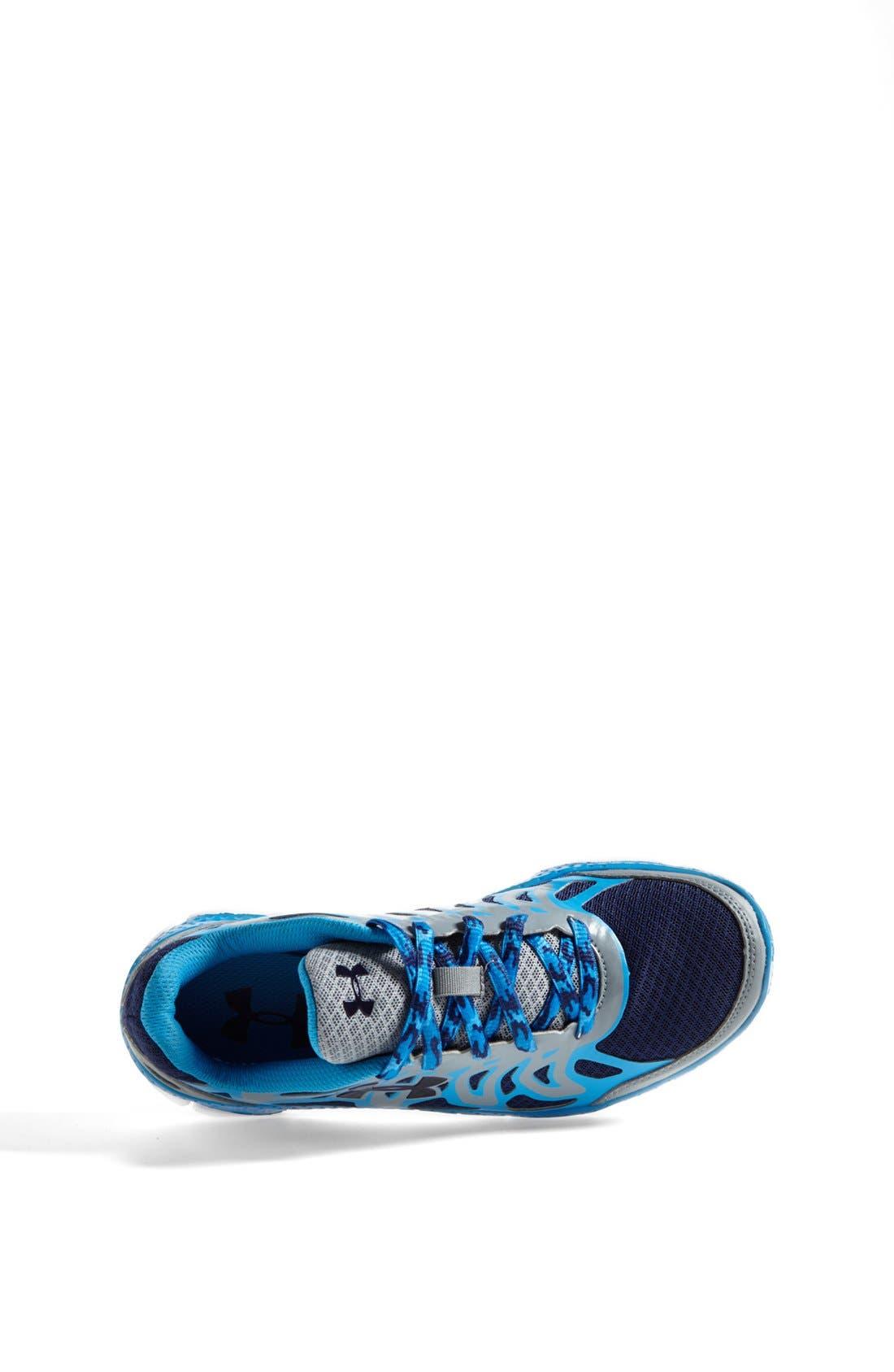 Alternate Image 3  - Under Armour 'Micro G™ Engage' Athletic Shoe (Big Kid)