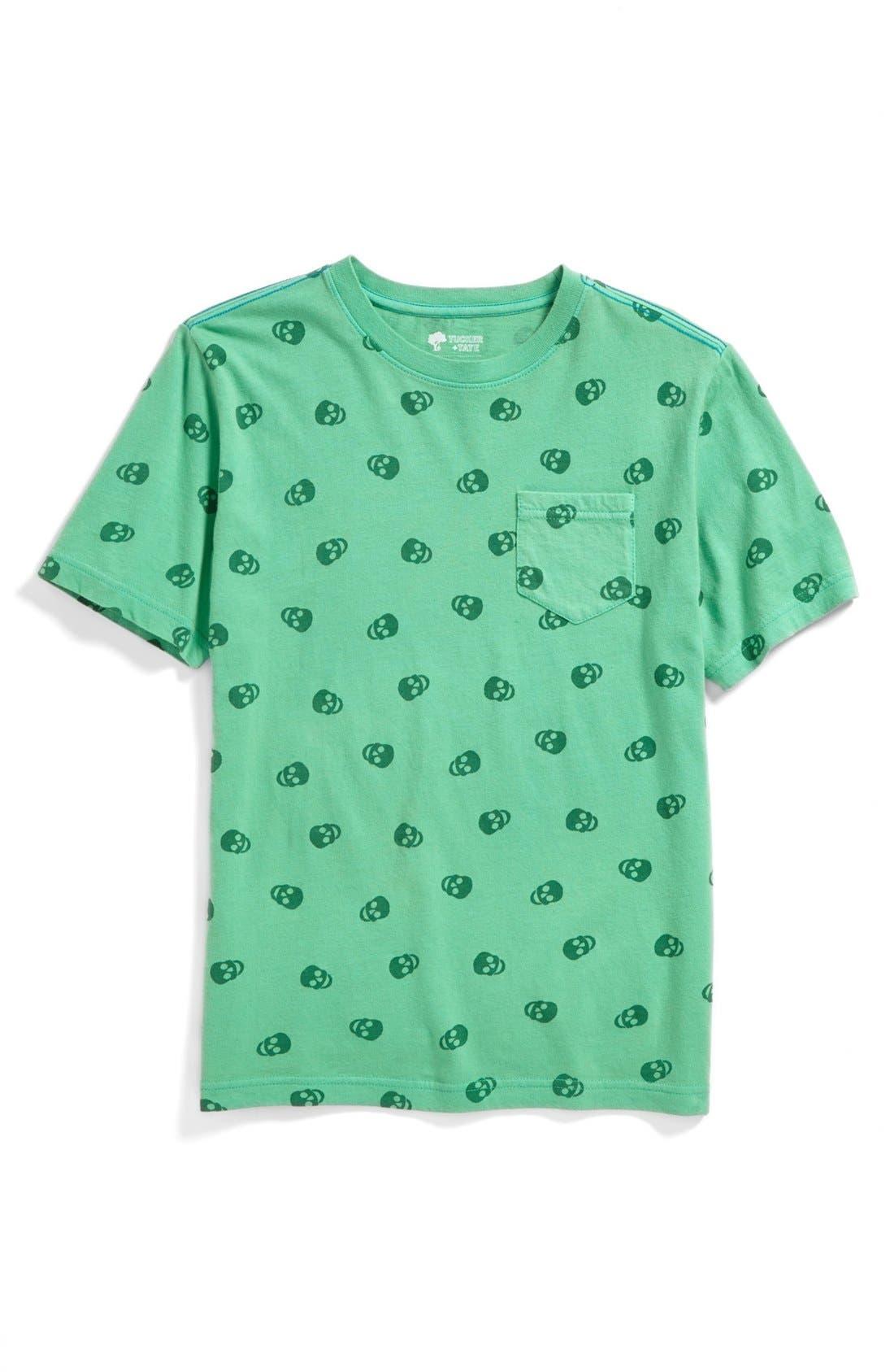 Alternate Image 1 Selected - Tucker + Tate 'Oscar' Overdyed T-Shirt (Big Boys)