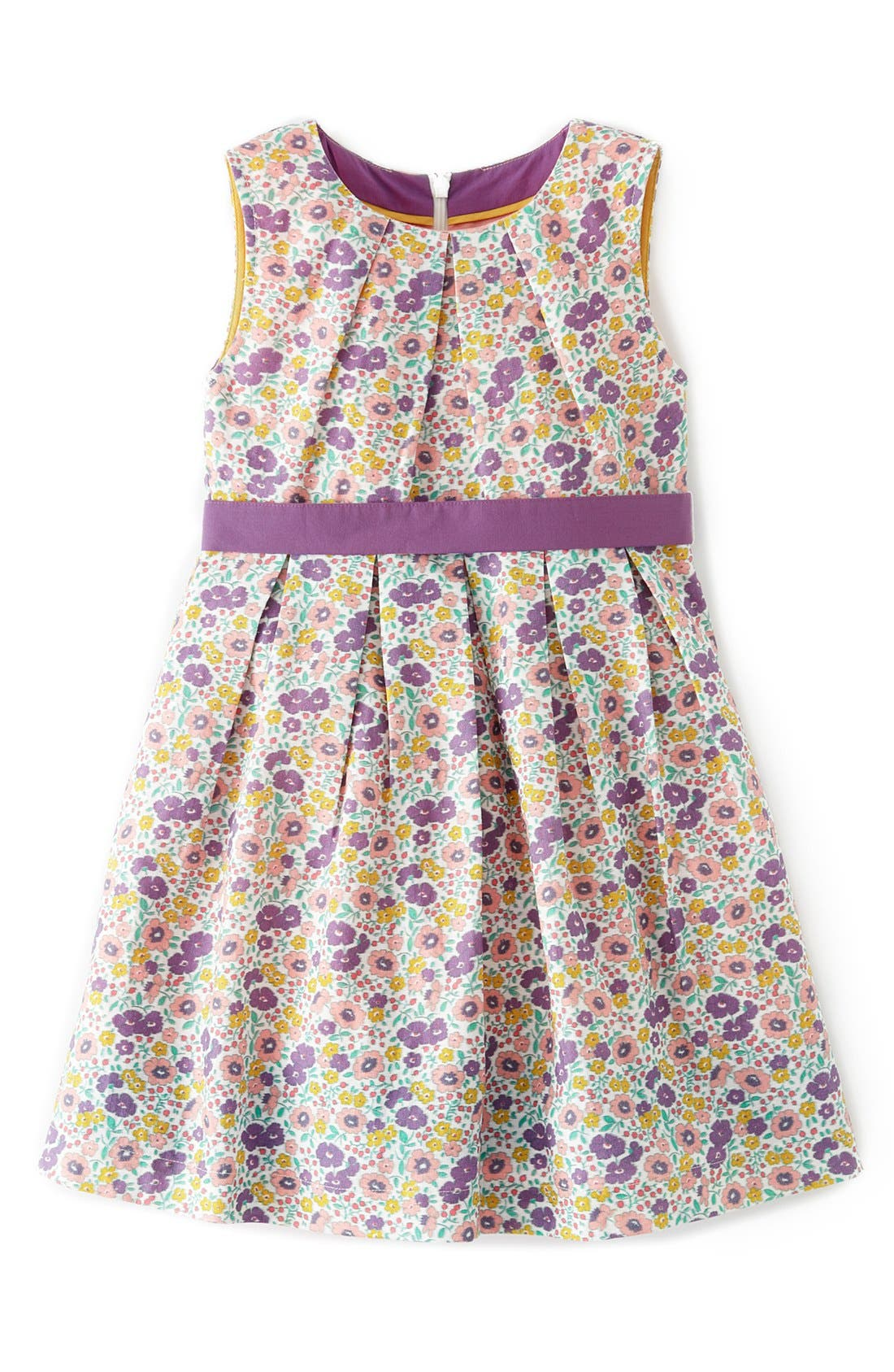 Alternate Image 1 Selected - Mini Boden 'Vintage' Dress (Little Girls & Big Girls)