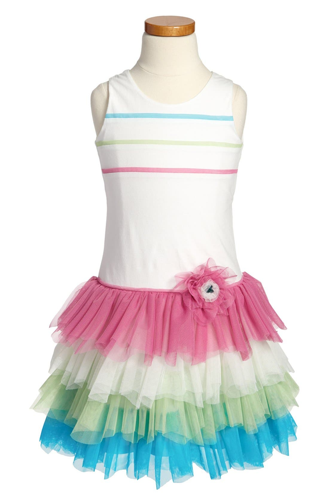 Main Image - Isobella & Chloe 'Tutti Frutti' Sleeveless Dress (Little Girls & Big Girls)