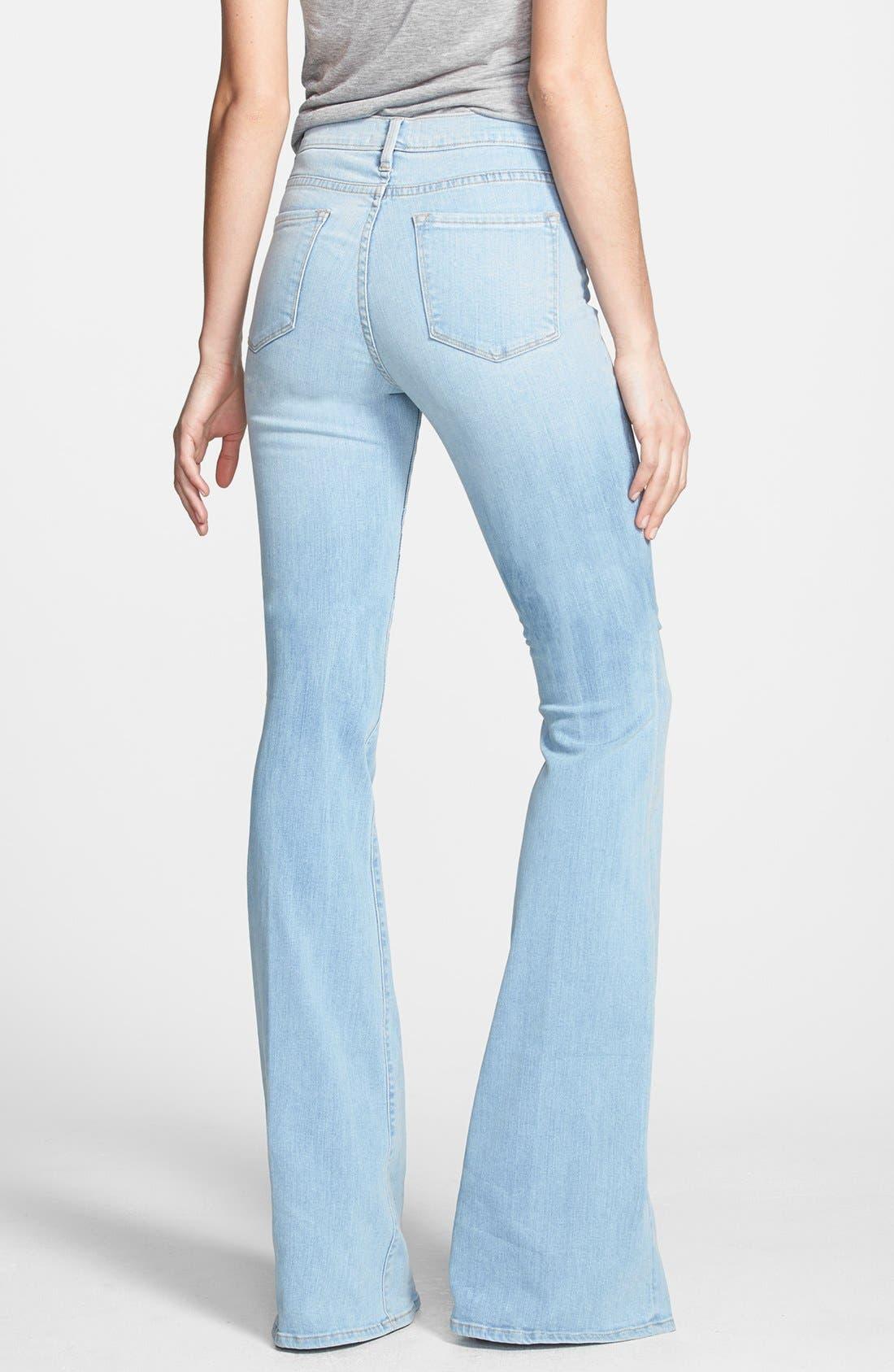 Alternate Image 3  - Frame Denim 'Forever Karlie' Flared Jeans (Redchurch Street)