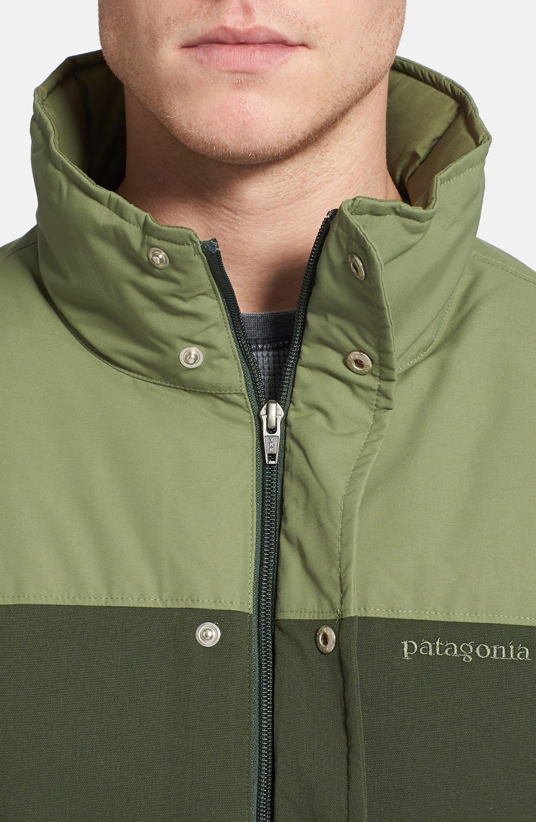 Alternate Image 6  - Patagonia 'Bivy' Quilted Down Jacket