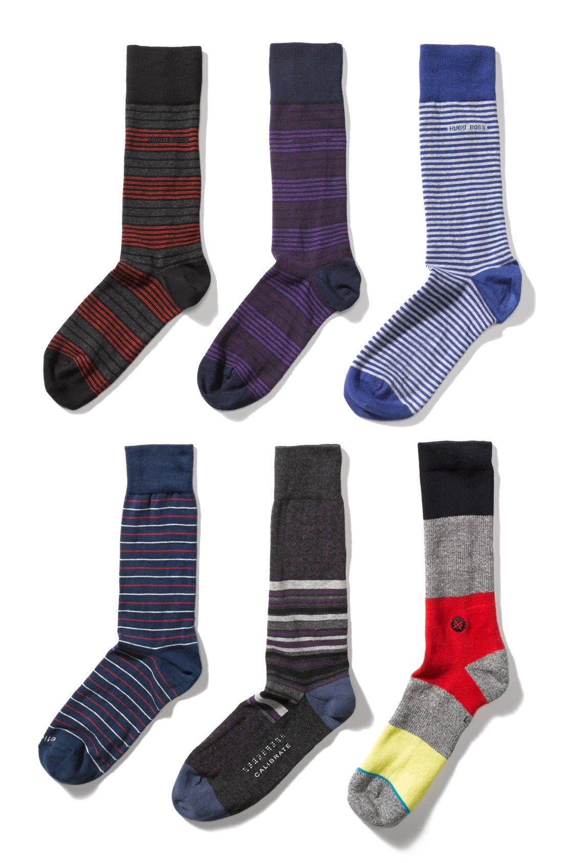 Alternate Image 3  - BOSS HUGO BOSS Stripe Socks