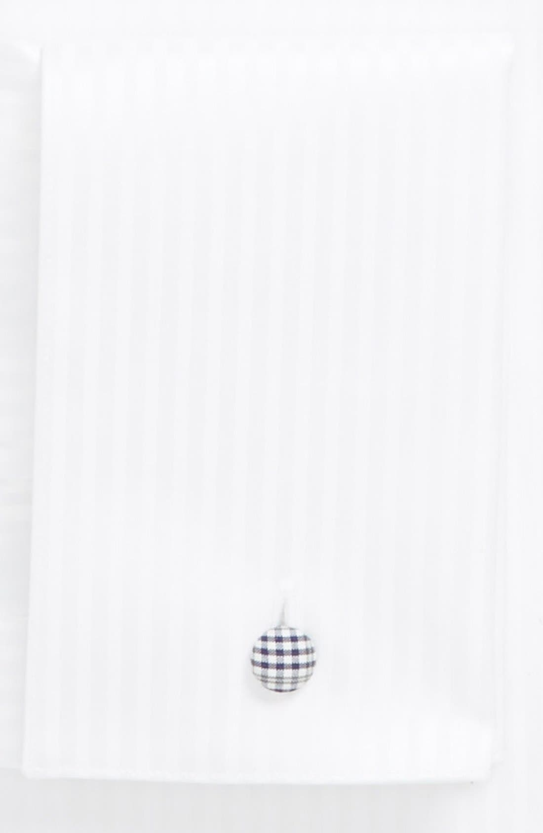 Contemporary Fit Tuxedo Shirt,                             Alternate thumbnail 3, color,                             White