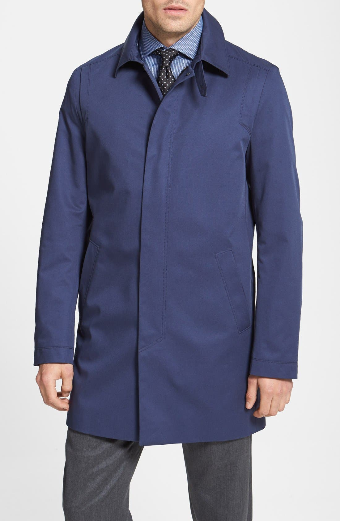 Alternate Image 1 Selected - HUGO 'Maker' Raincoat