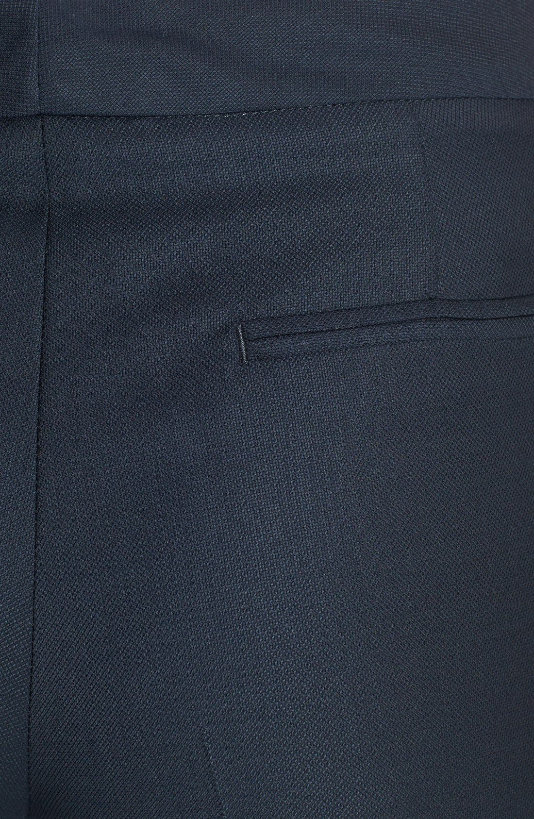 Alternate Image 3  - Santorelli Slim Leg Wool Pants