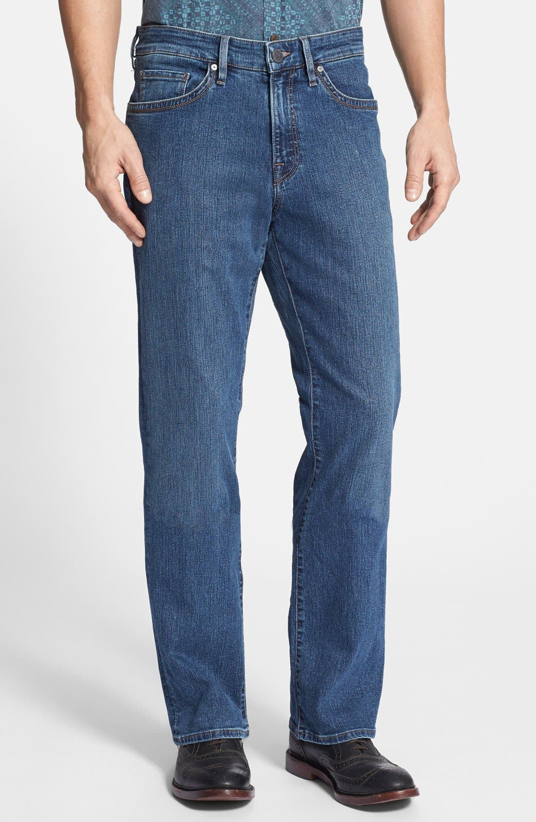 Charisma Classic Relaxed Fit Jeans,                             Main thumbnail 1, color,                             Mid Comfort