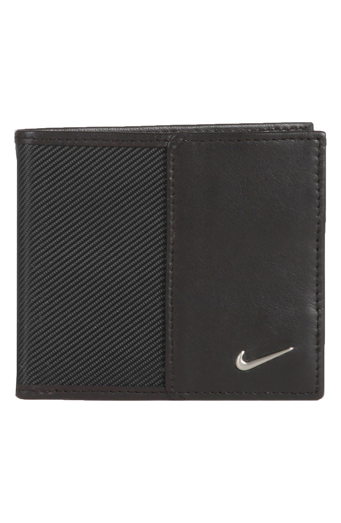 Alternate Image 1 Selected - Nike Leather Wallet