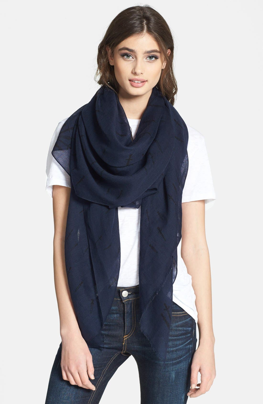 Alternate Image 1 Selected - rag & bone 'Classic Dagger' Scarf