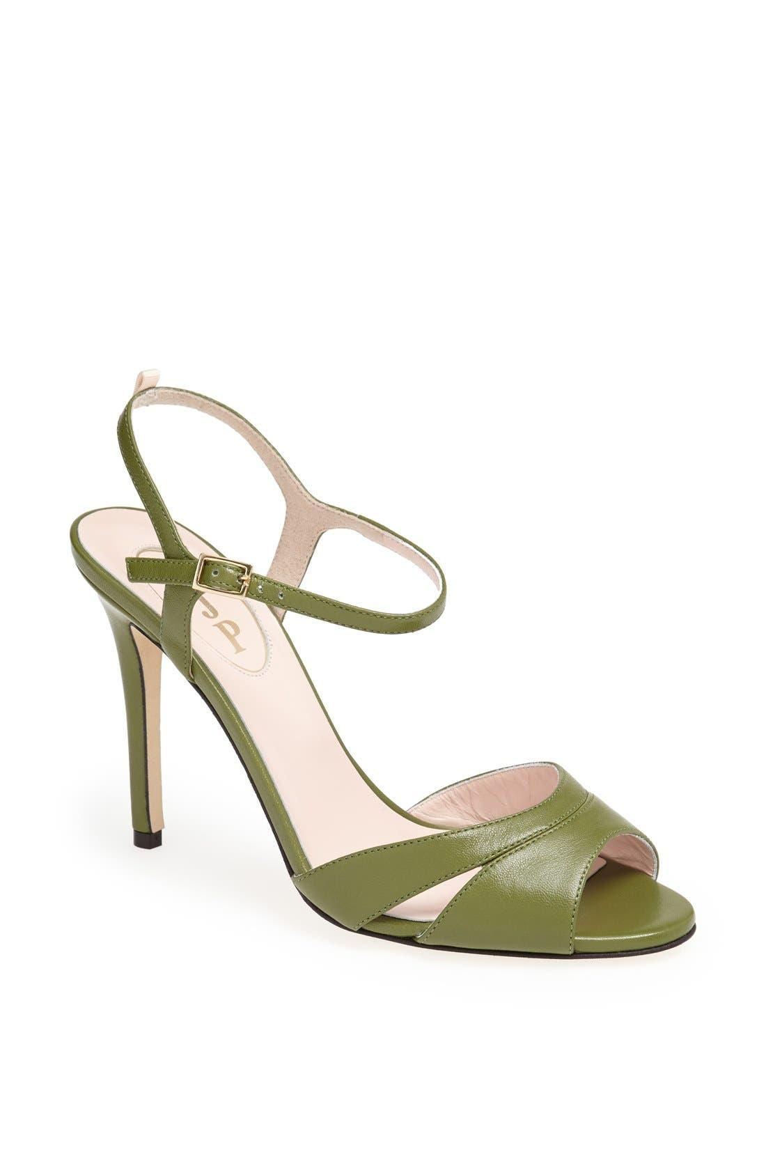 SJP 'Anna' Sandal,                             Main thumbnail 1, color,                             Green