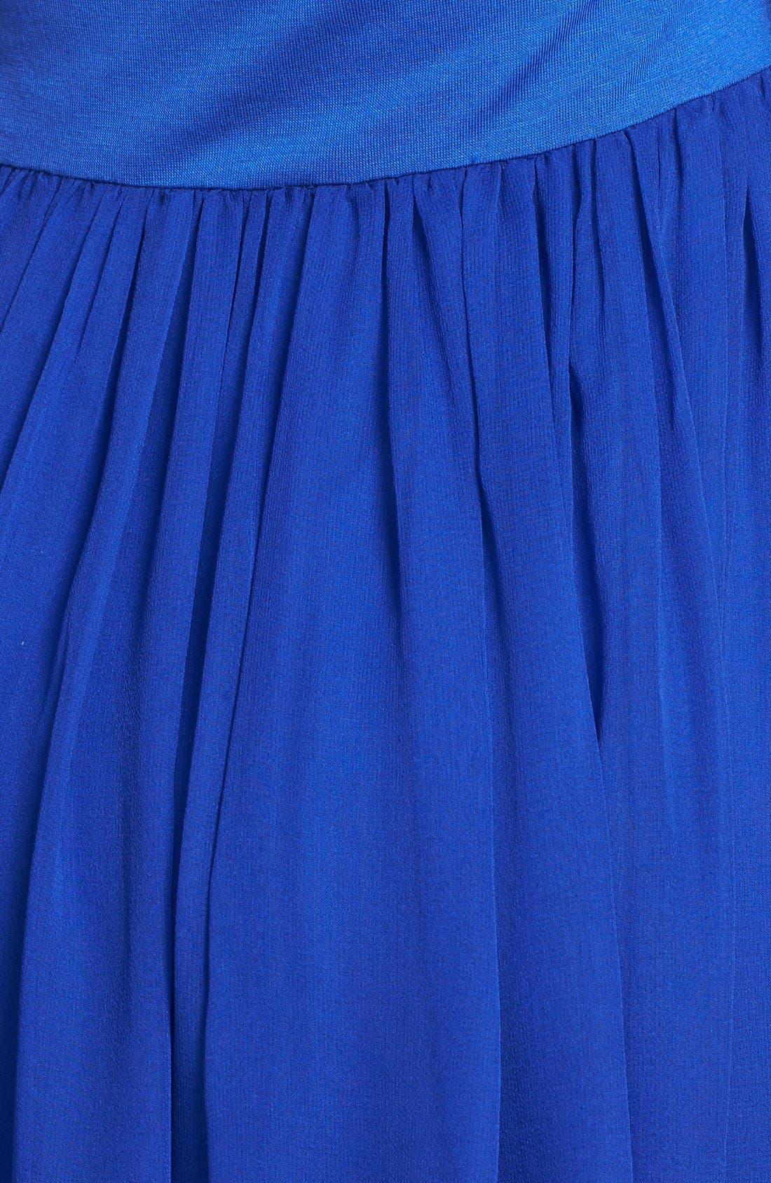 Alternate Image 3  - Felicity & Coco 'Sebastian' Mixed Media Maxi Dress