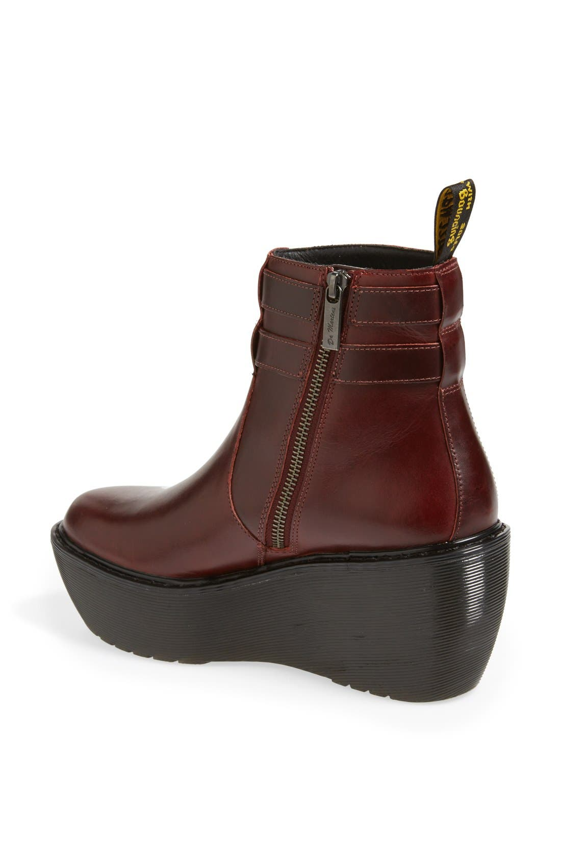 Alternate Image 2  - Dr. Martens 'Caitlin' Two-Strap Ankle Boot