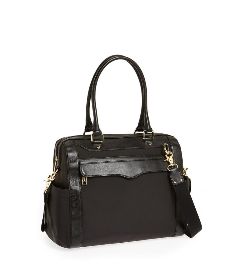 rebecca minkoff knocked up leather diaper bag nordstrom. Black Bedroom Furniture Sets. Home Design Ideas