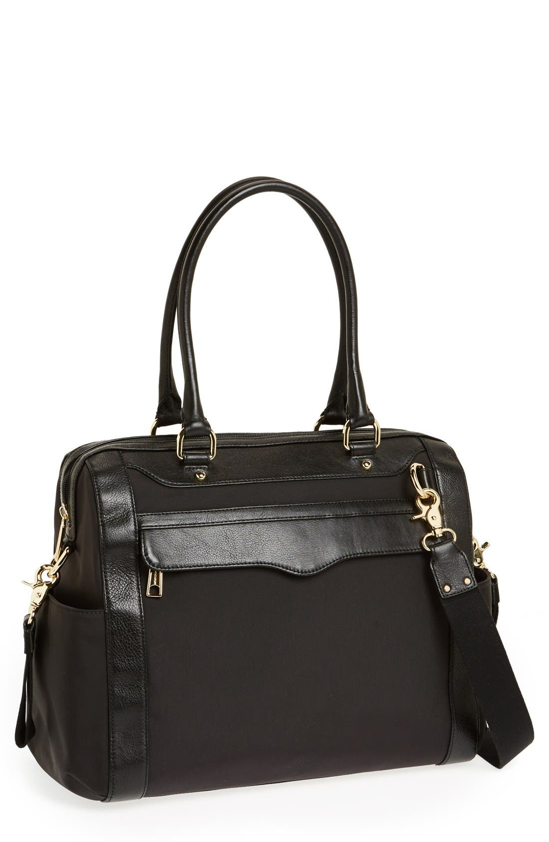 Rebecca Minkoff 'Knocked Up' Leather Diaper Bag