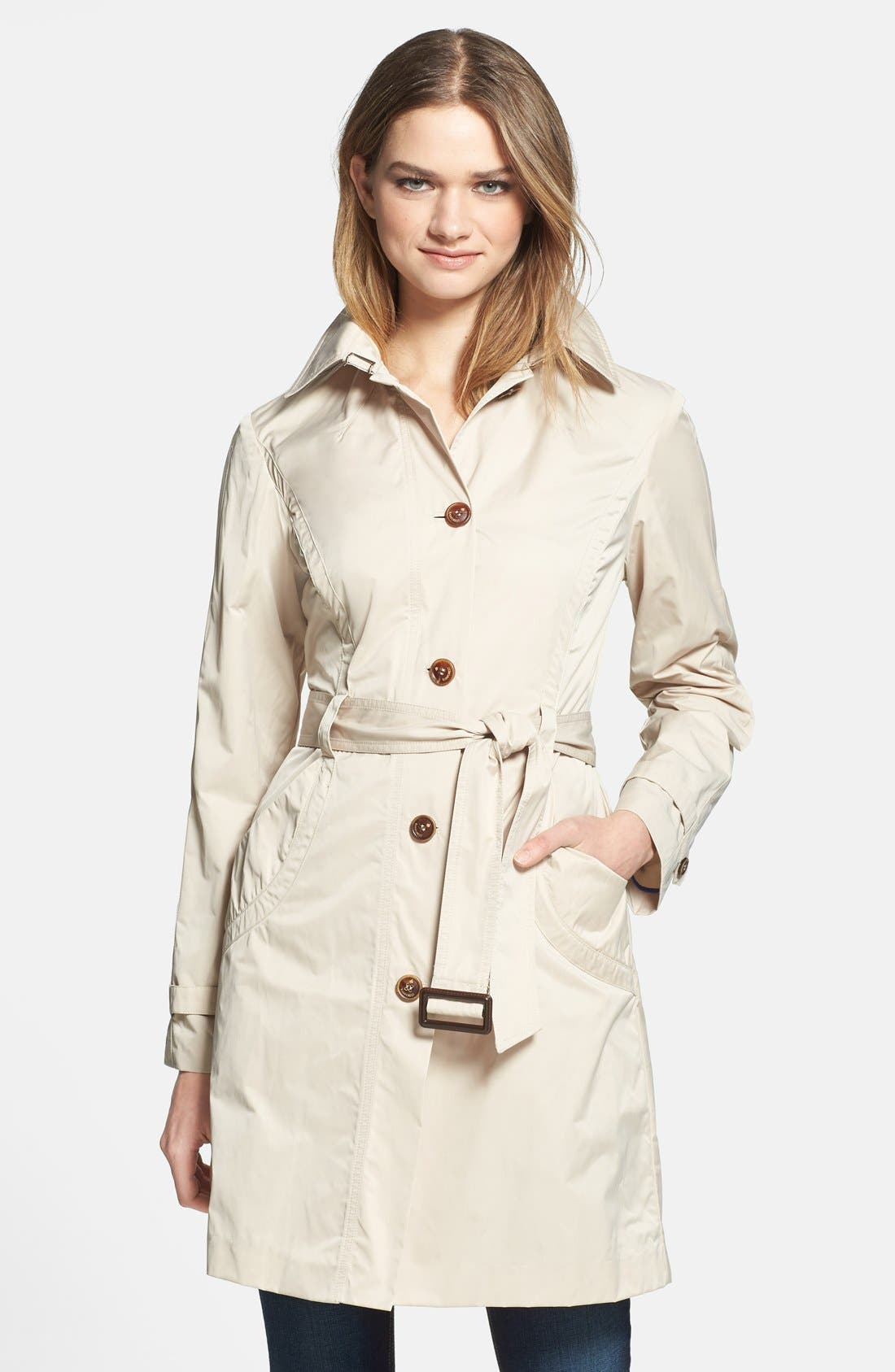 Alternate Image 1 Selected - RAINFOREST Packable Trench Coat