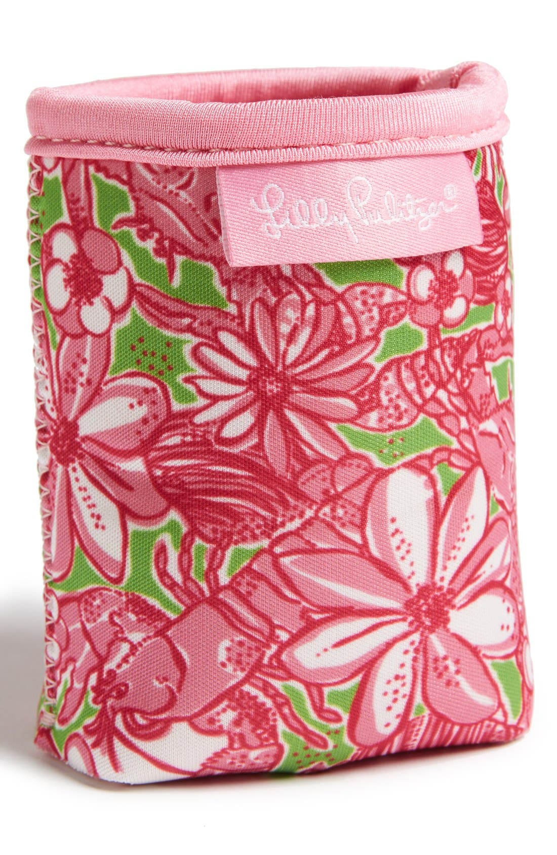 Alternate Image 1 Selected - Lilly Pulitzer® 'Garden by the Sea' Drink Hugger