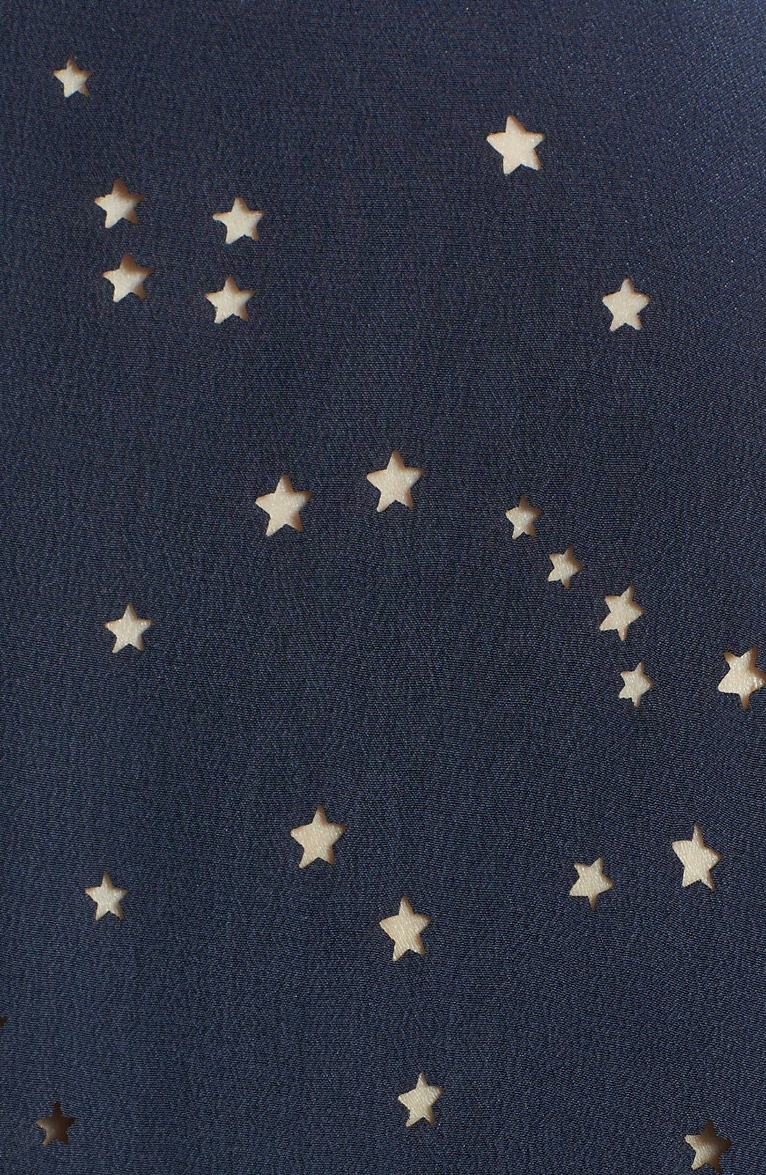 Alternate Image 3  - Equipment 'Colleen' Star Cutout Silk Shirt